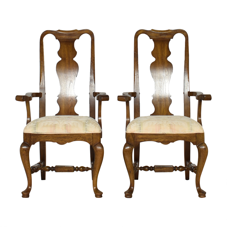 Thomasville Thomasville Dining Arm Chairs nyc