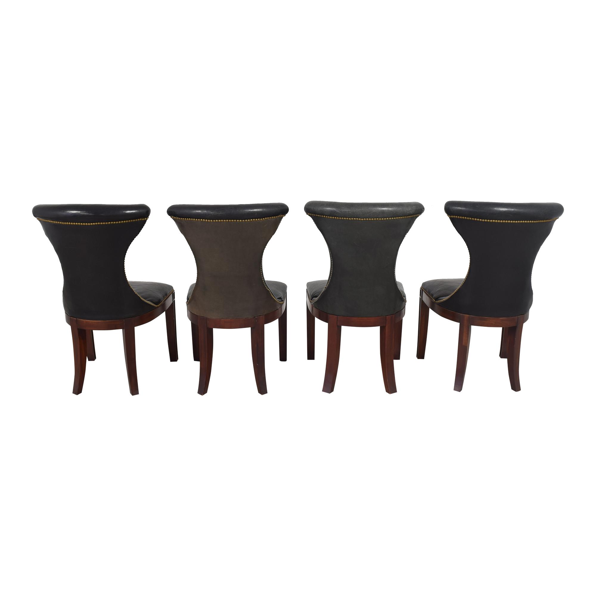 Ralph Lauren Home Ralph Lauren Nailhead Trim Dining Chairs used