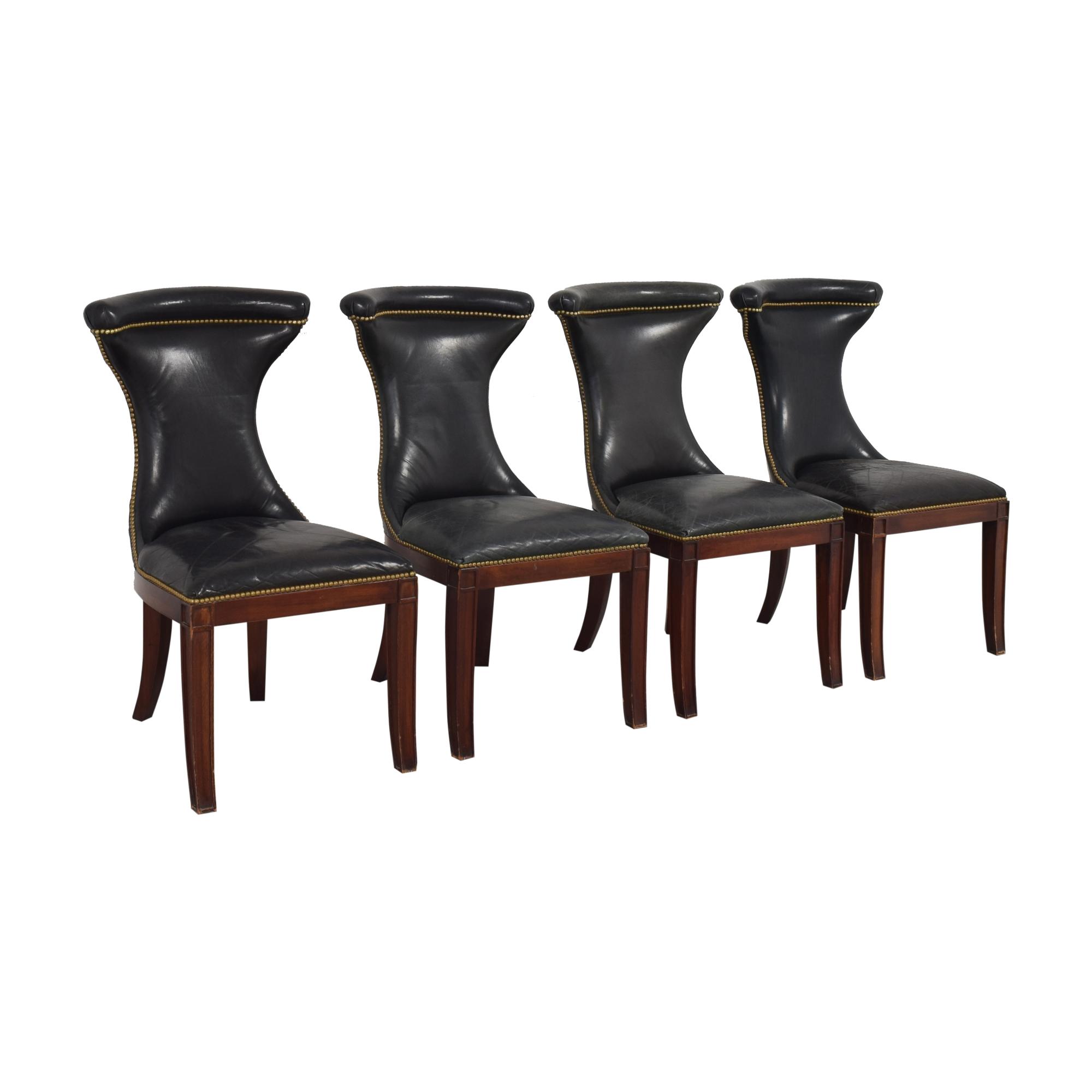 Ralph Lauren Home Ralph Lauren Nailhead Trim Dining Chairs discount