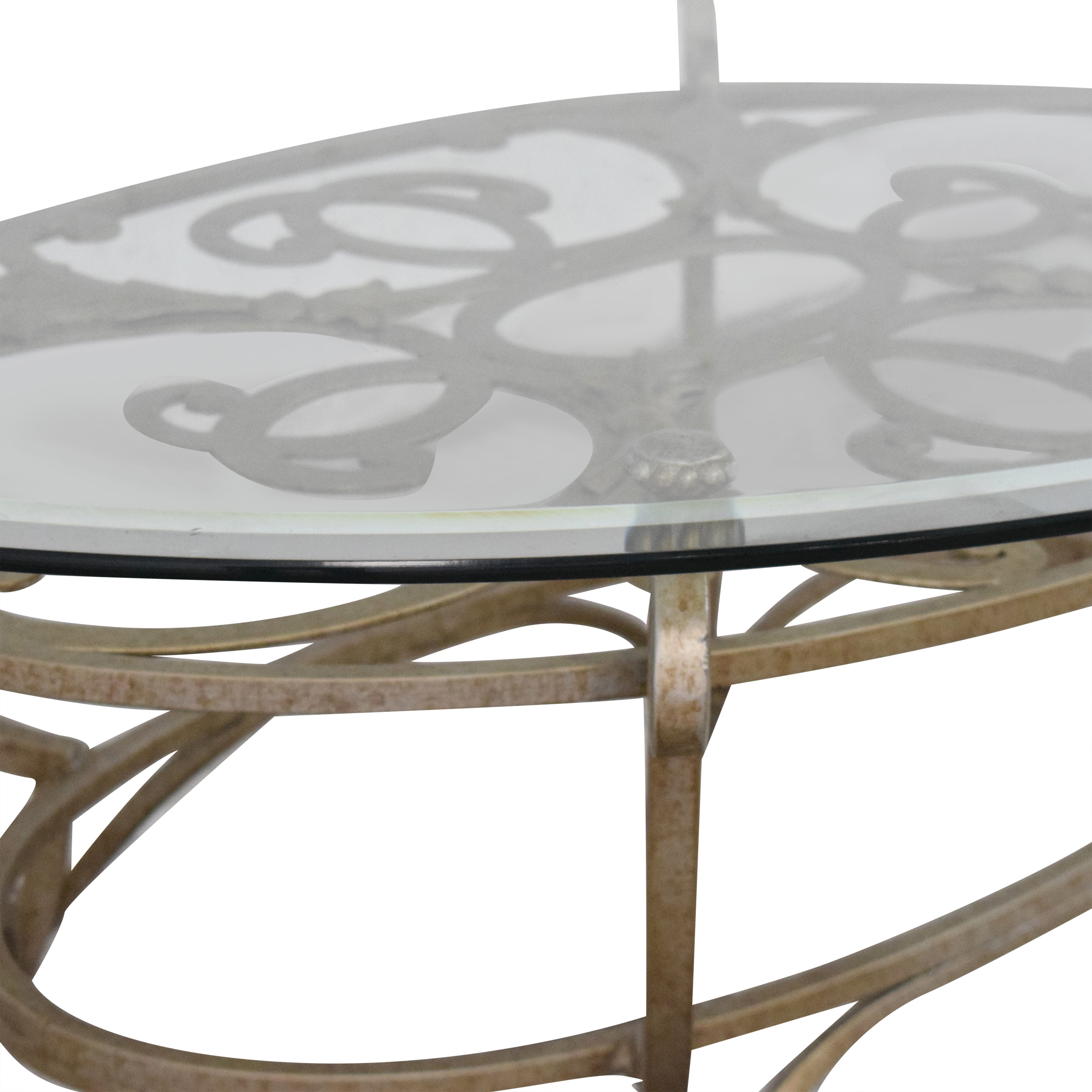 Domain Home Domain Home Oval Cocktail Table coupon