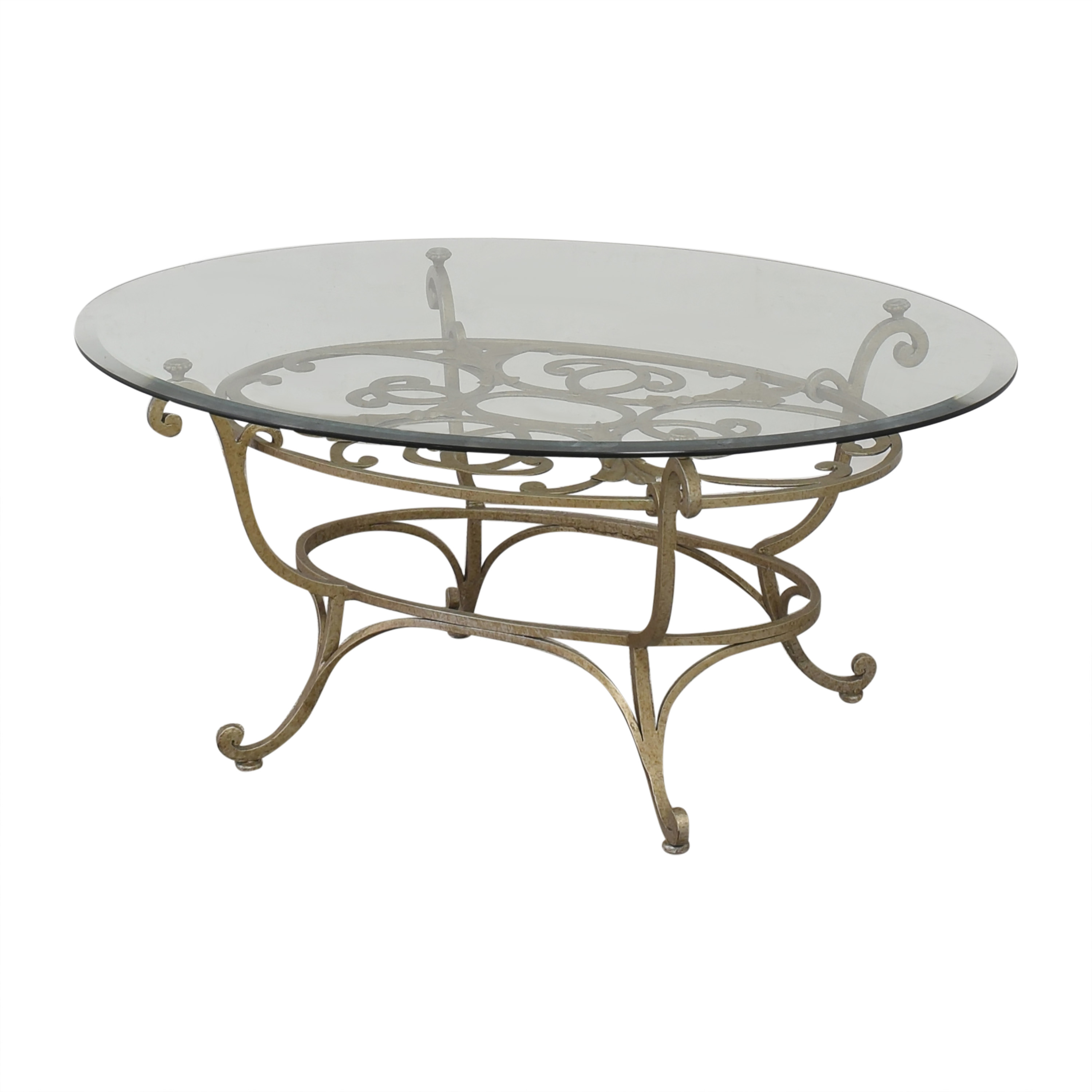 Domain Home Domain Home Oval Cocktail Table pa
