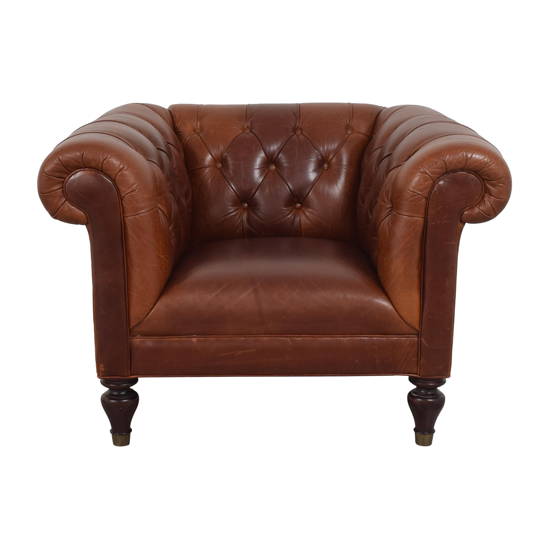 Restoration Hardware Restoration Hardware Chesterfield Accent Chair nj