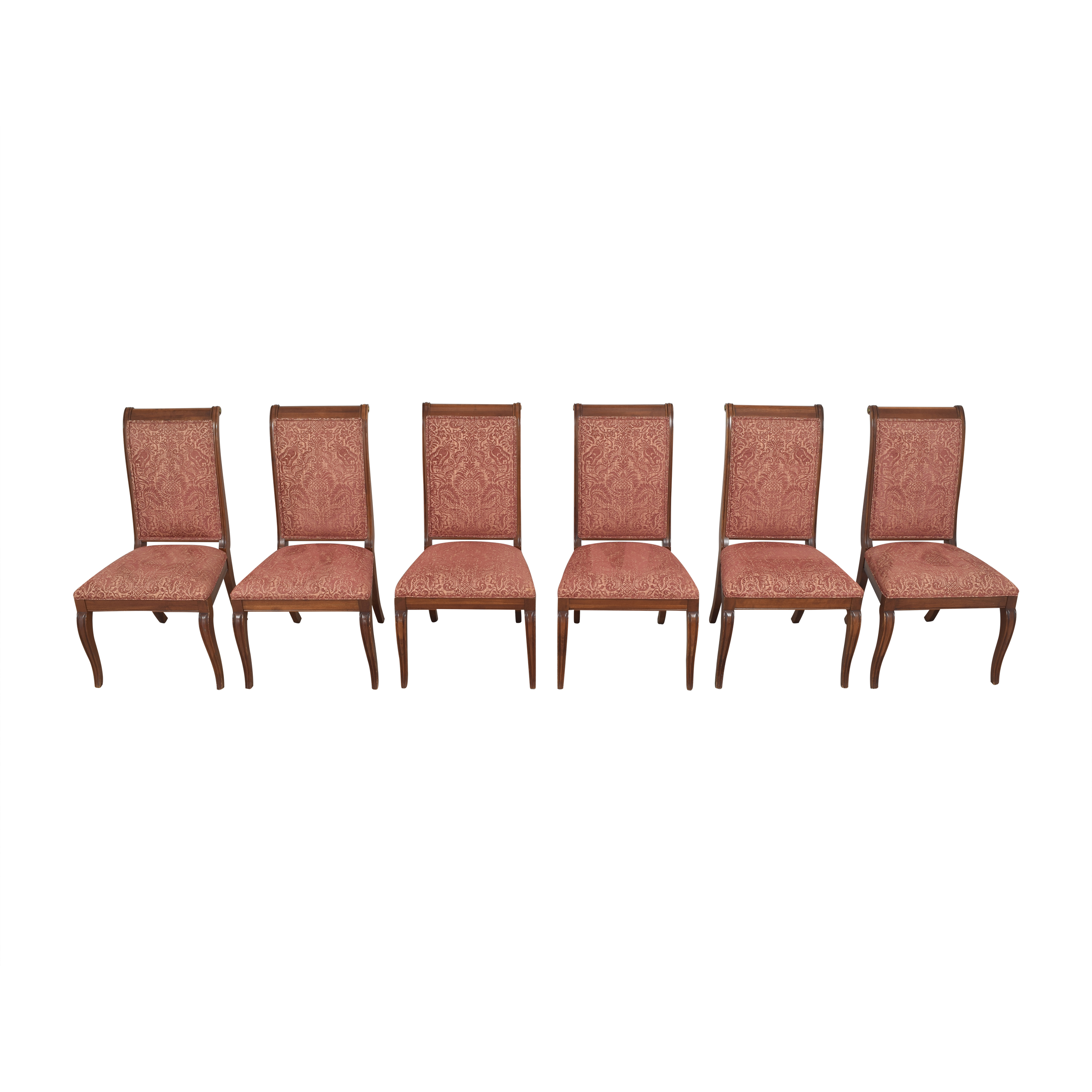 Ethan Allen Ethan Allen Upholstered Dining Side Chairs for sale