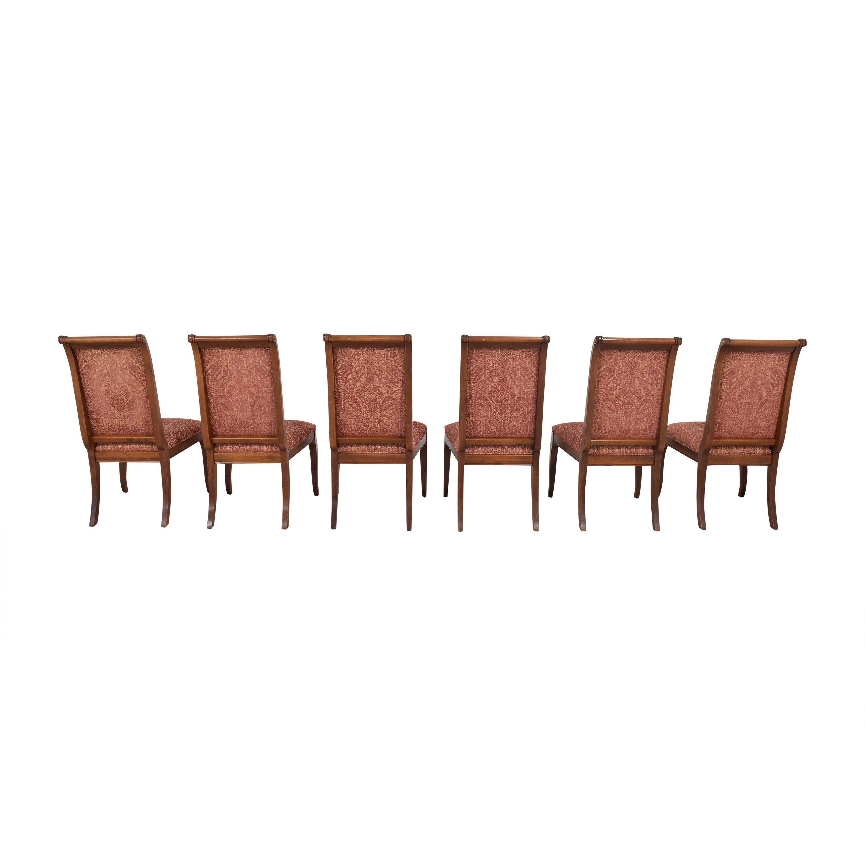 Ethan Allen Ethan Allen Upholstered Dining Side Chairs on sale
