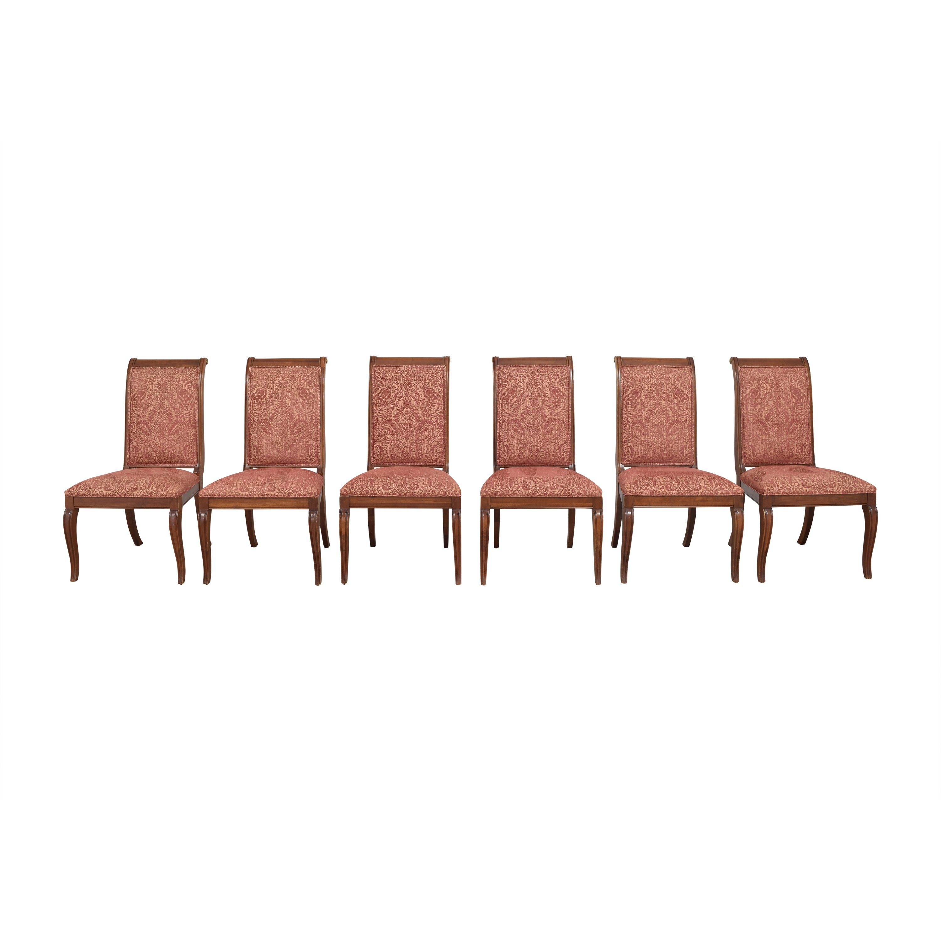 shop Ethan Allen Upholstered Dining Side Chairs Ethan Allen