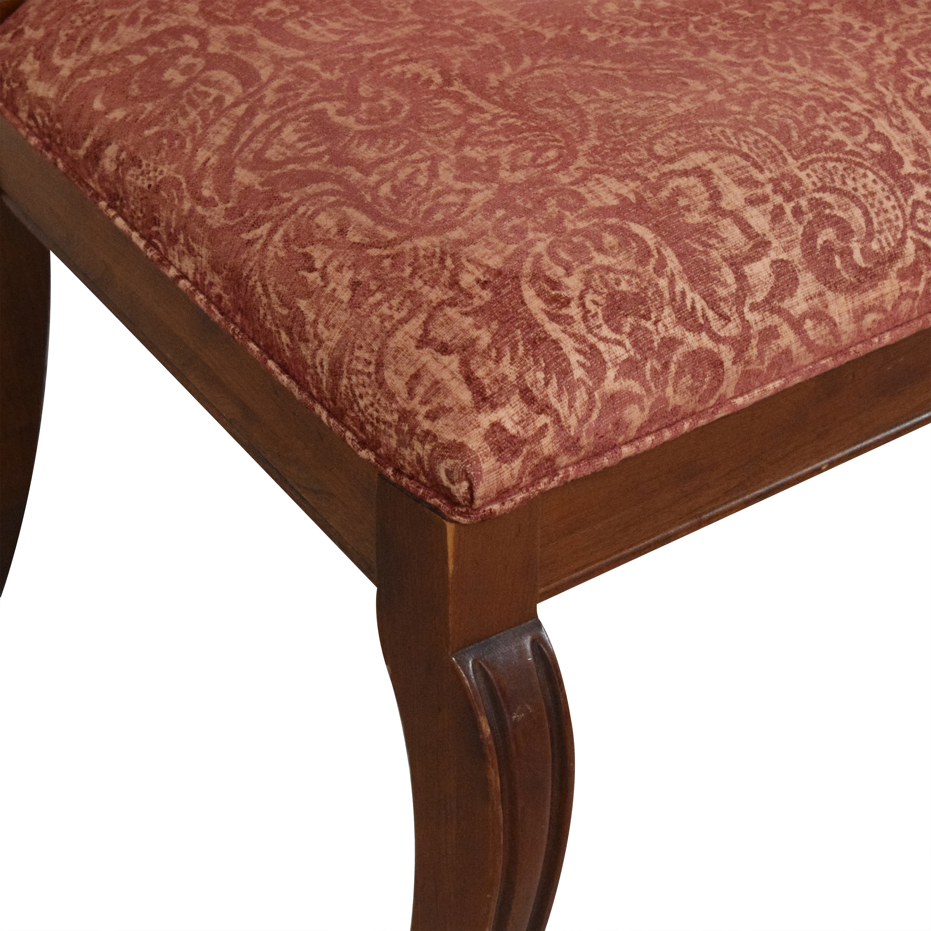 Ethan Allen Ethan Allen Upholstered Dining Side Chairs price