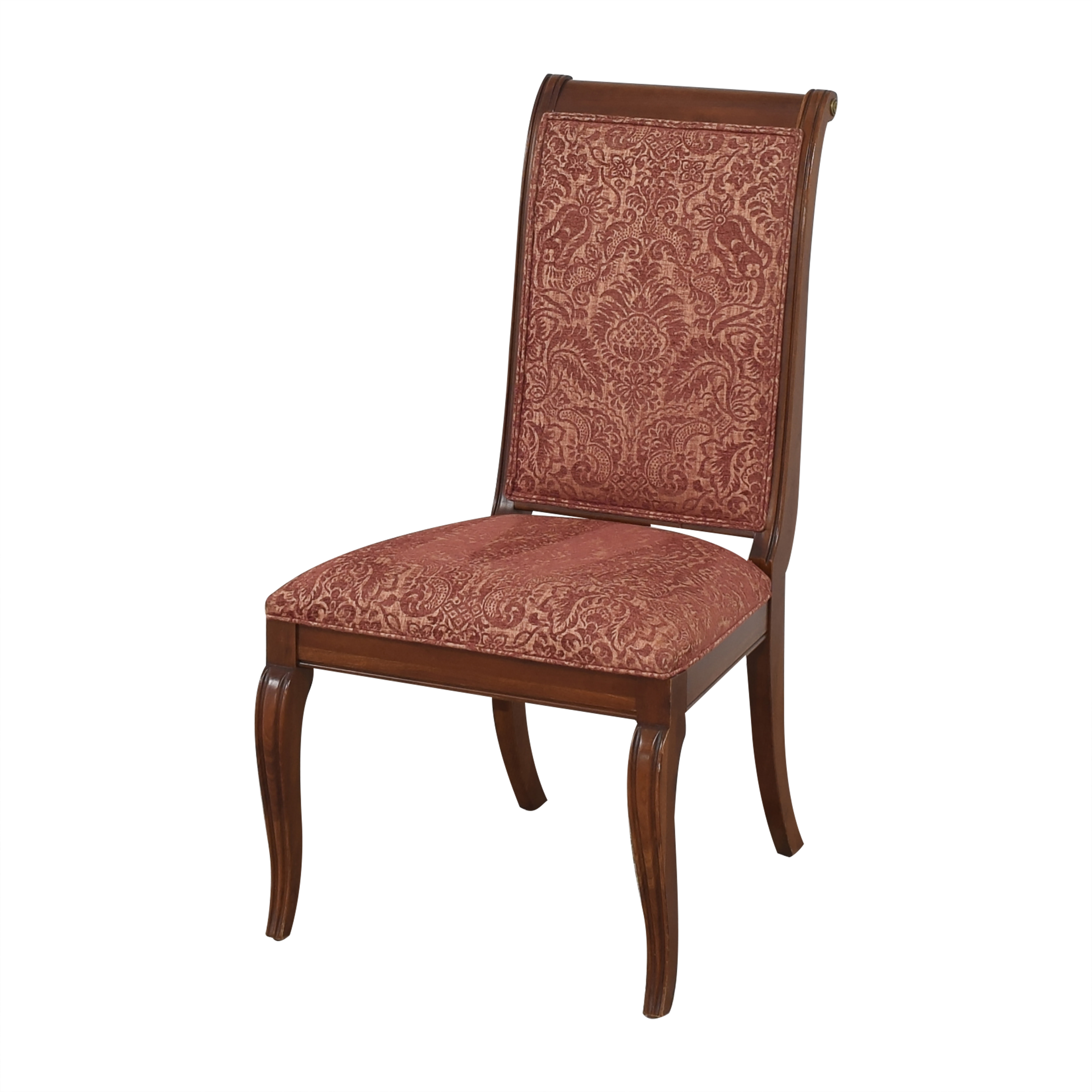 Ethan Allen Ethan Allen Upholstered Dining Side Chairs discount