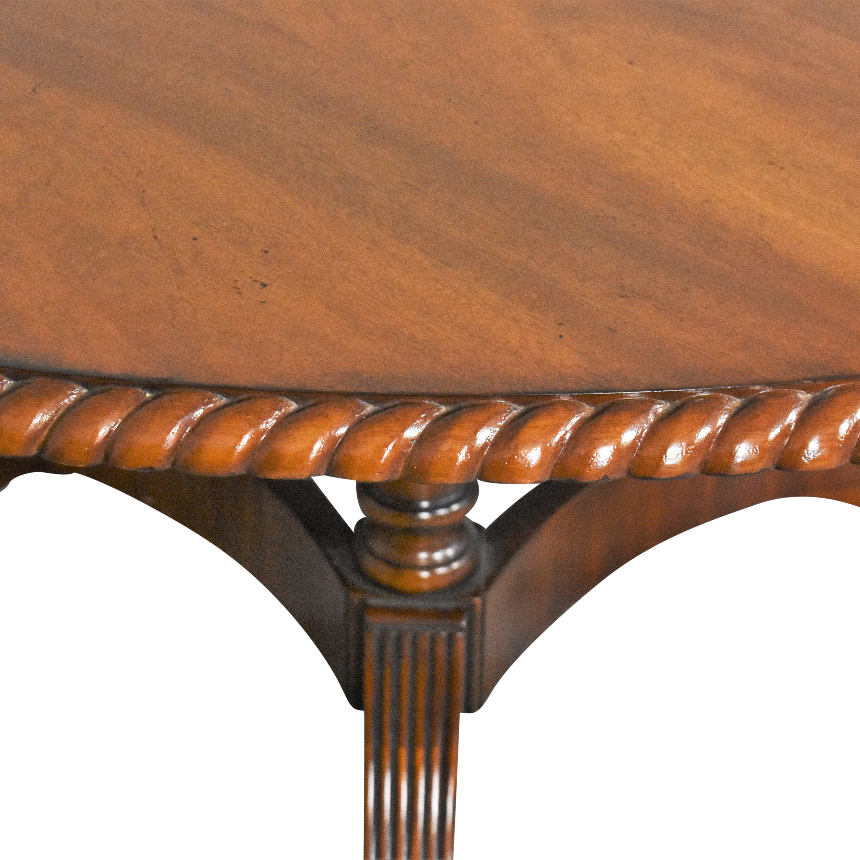 Walter of Wabash Walter of Wabash Extendable Dining Table Brown