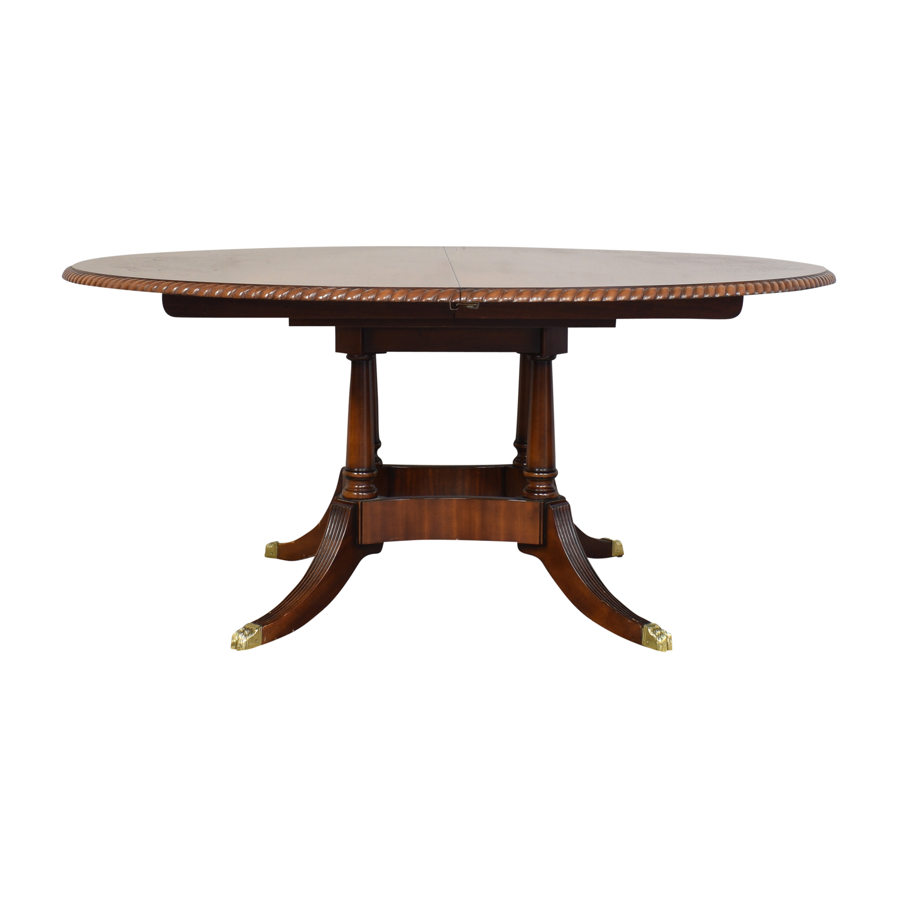 Walter of Wabash Walter of Wabash Extendable Dining Table dimensions