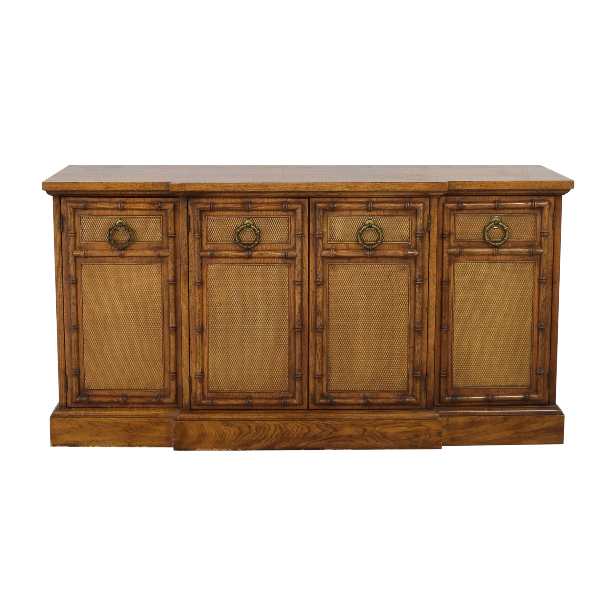 American of Martinsville American of Martinsville Four Door Credenza Cabinets & Sideboards
