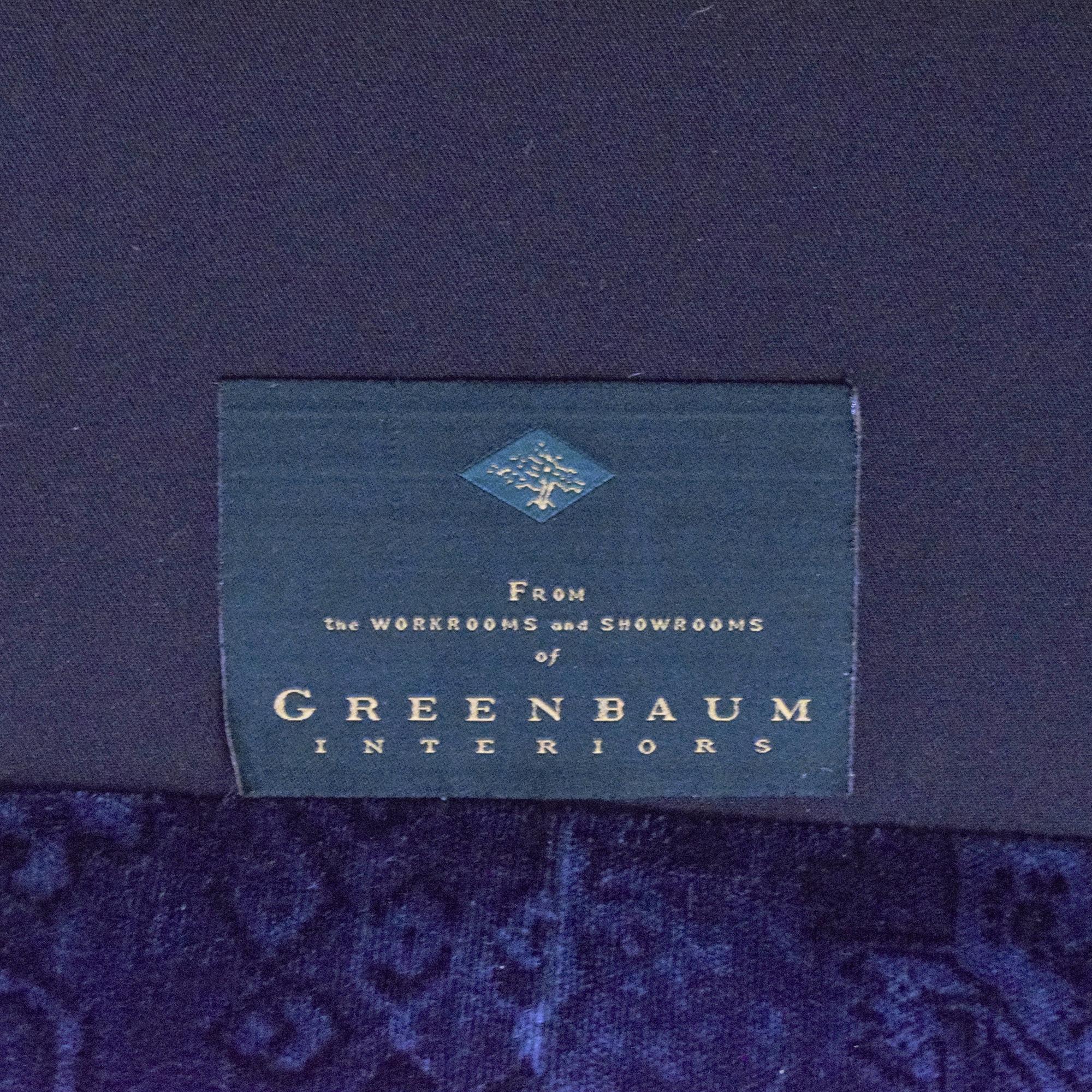 Greenbaum Interiors Greenbaum Interiors Skirted Loveseat