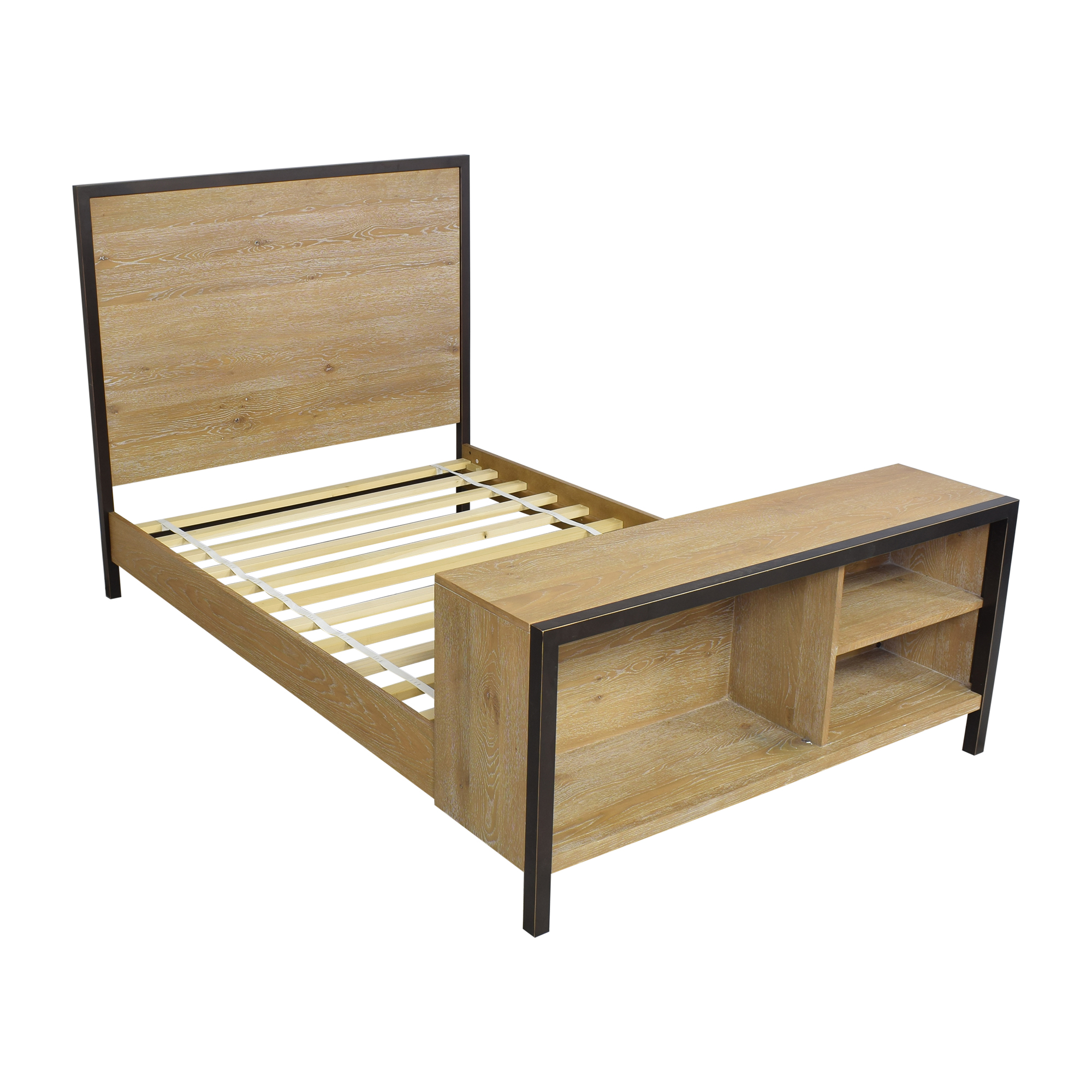 West Elm West Elm Full Bed with Bookcase coupon