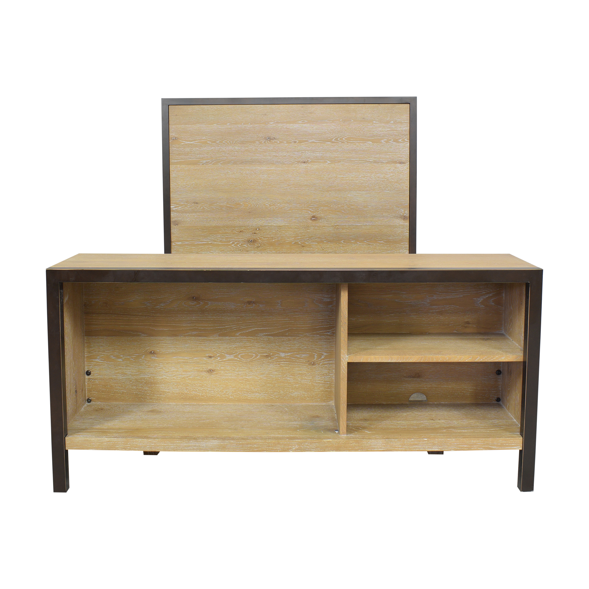 West Elm West Elm Full Bed with Bookcase ct