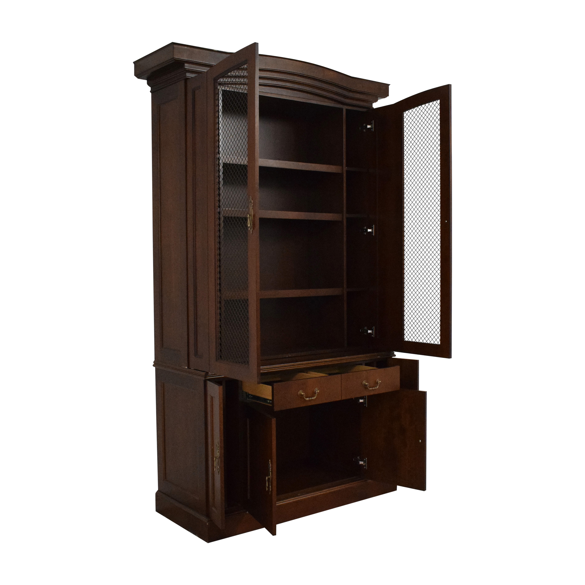 Louis J. Solomon Louis J. Solomon Breakfront Cabinet Wardrobes & Armoires