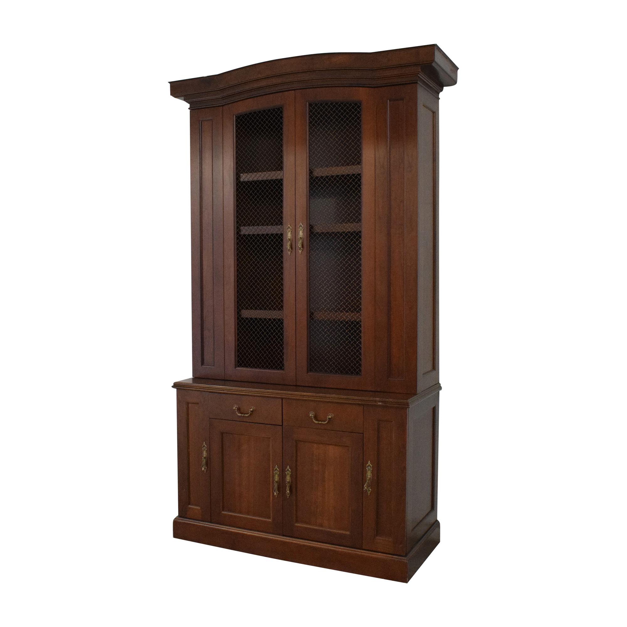 shop Louis J. Solomon Breakfront Cabinet Louis J. Solomon
