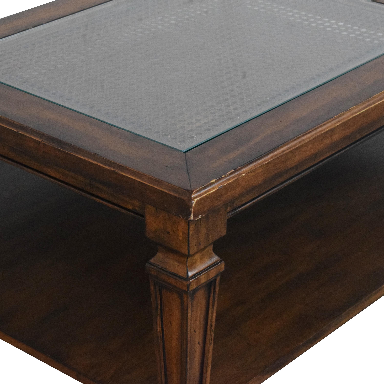 Ethan Allen Ethan Allen Quattro Coffee Table dimensions