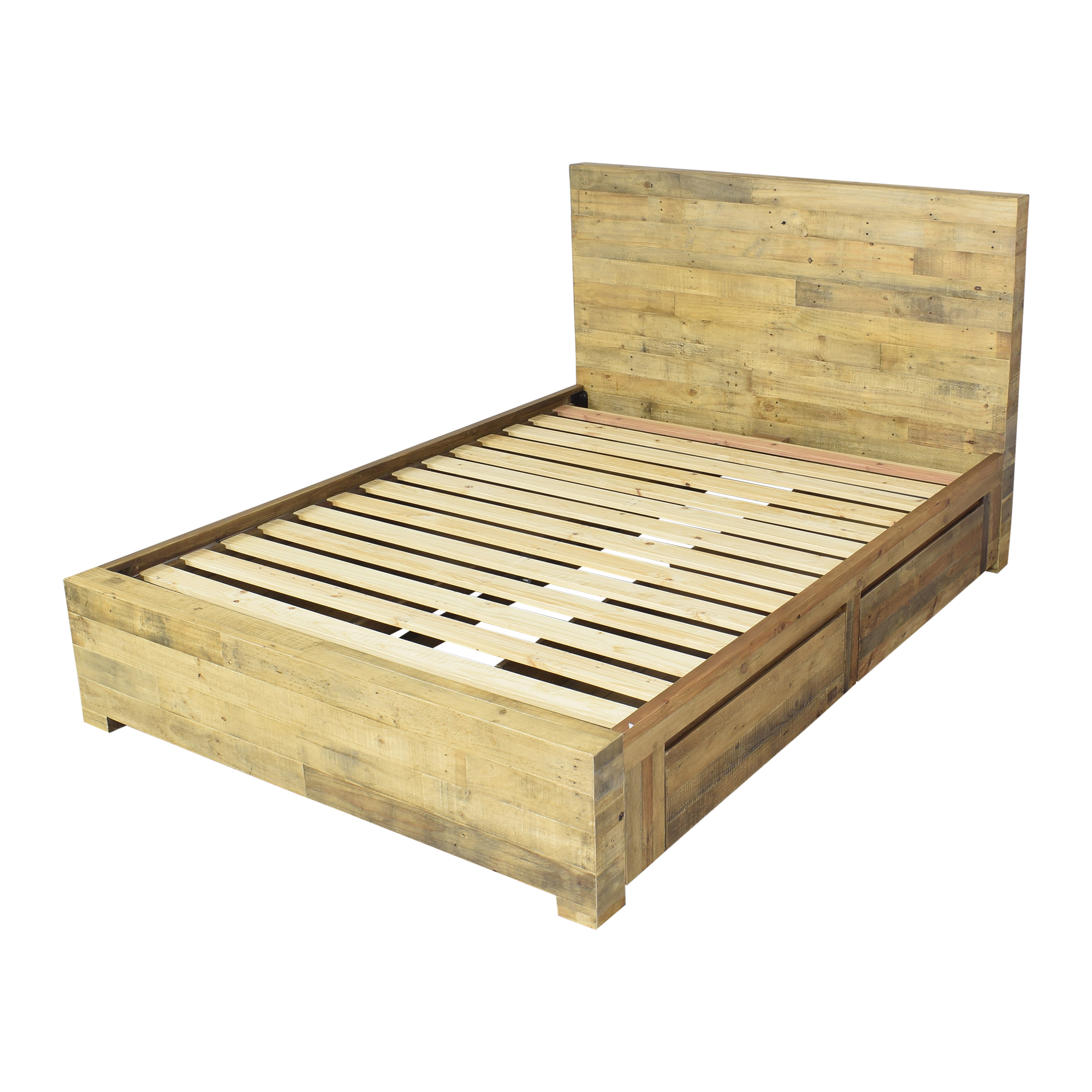 West Elm West Elm Emmerson Reclaimed Storage Queen Bed ma