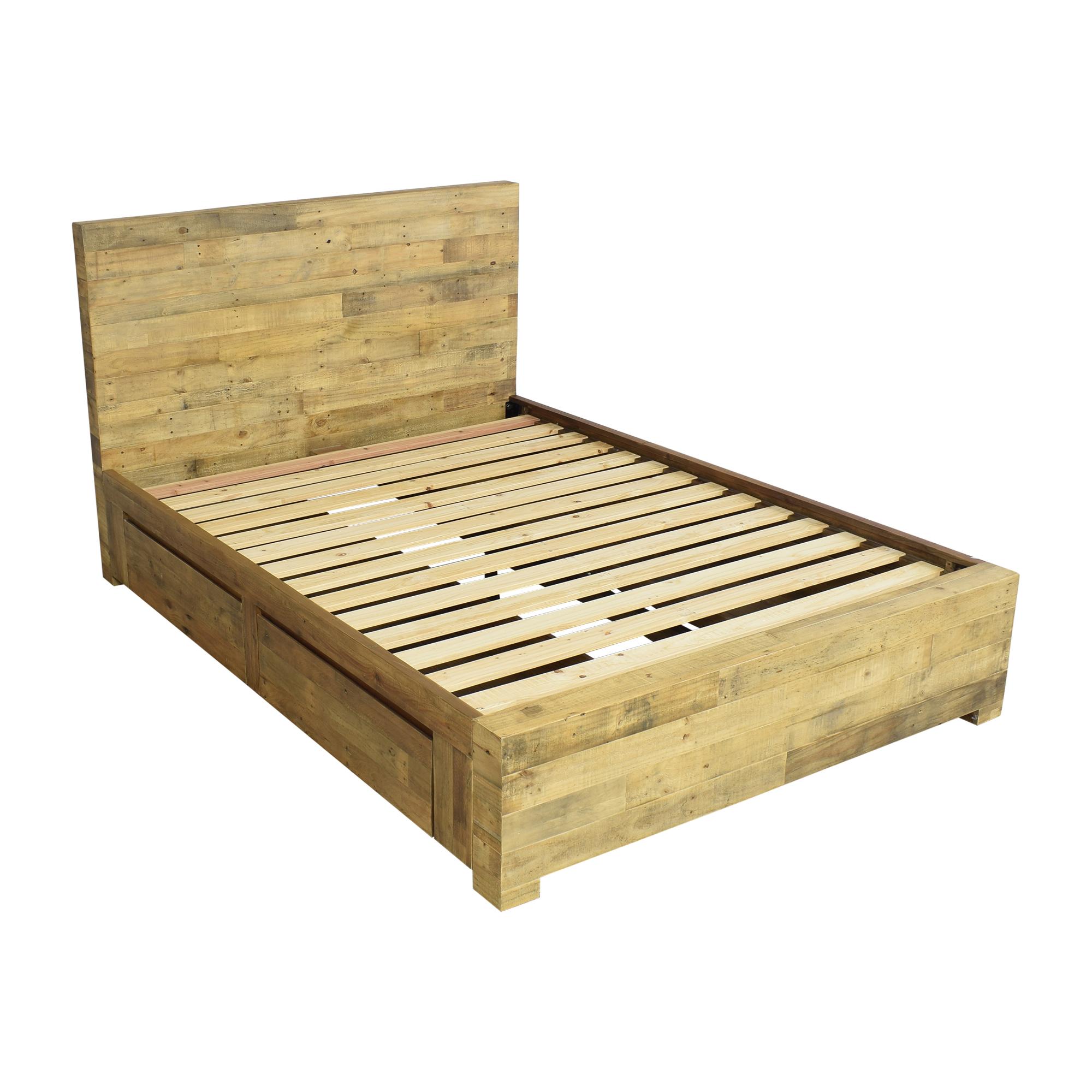 West Elm West Elm Emmerson Reclaimed Storage Queen Bed
