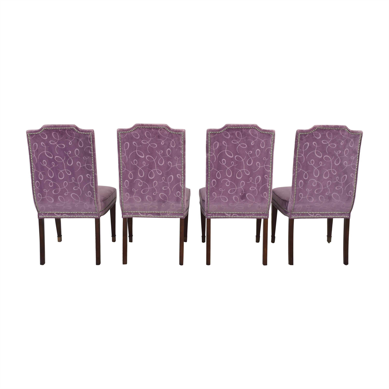 shop Vanguard Furniture by Michael Weiss Travis Dining Side Chairs Vanguard Furniture Chairs