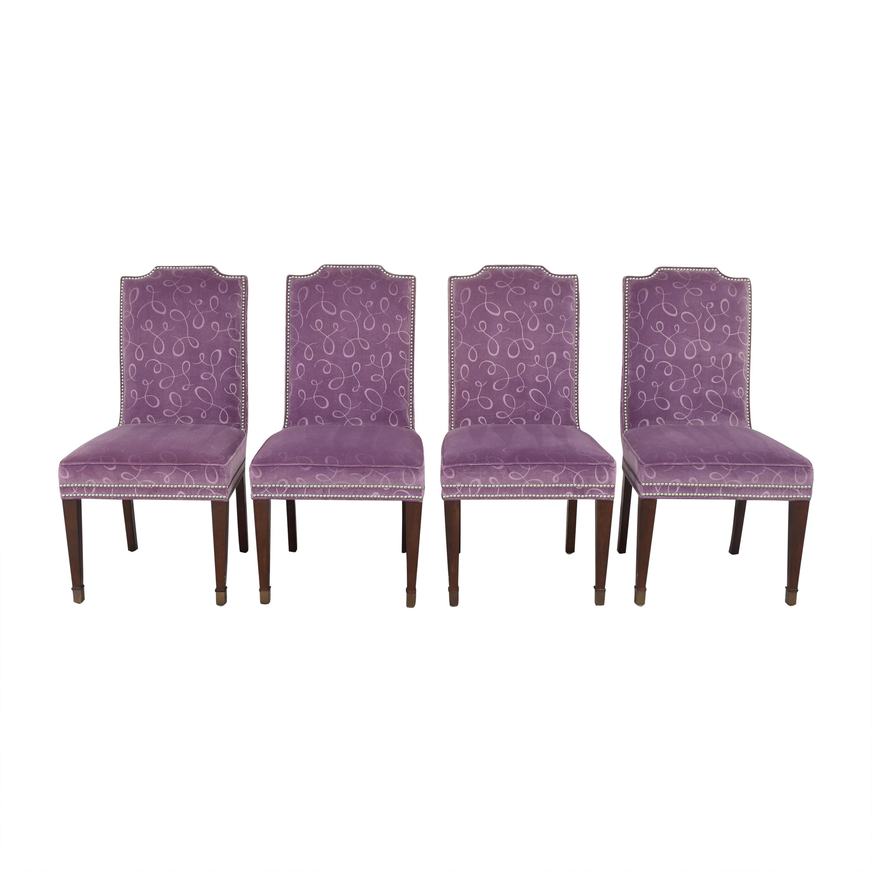 shop Vanguard Furniture by Michael Weiss Travis Dining Side Chairs Vanguard Furniture Dining Chairs