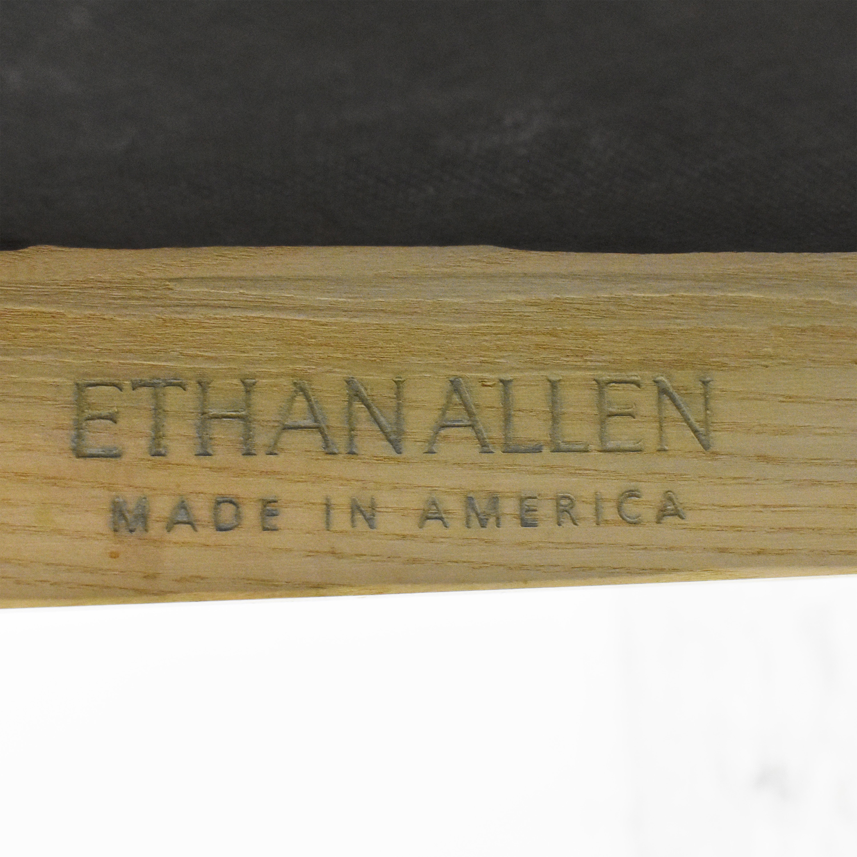 Ethan Allen Ethan Allen Dining Side Chairs beige & brown