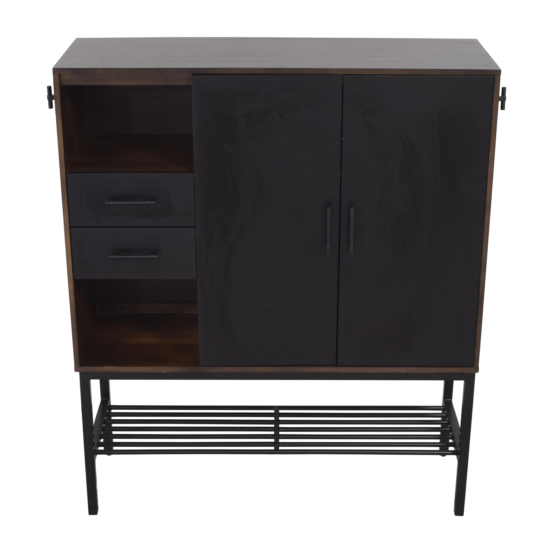 Crate & Barrel Crate & Barrel Tatum Entryway Shoe Storage Cabinet dimensions