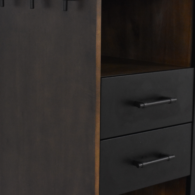 Crate & Barrel Crate & Barrel Tatum Entryway Shoe Storage Cabinet Cabinets & Sideboards