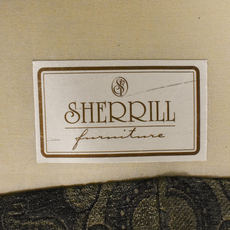 Sherrill Furniture Sherrill Furniture Skirted Loveseat ma