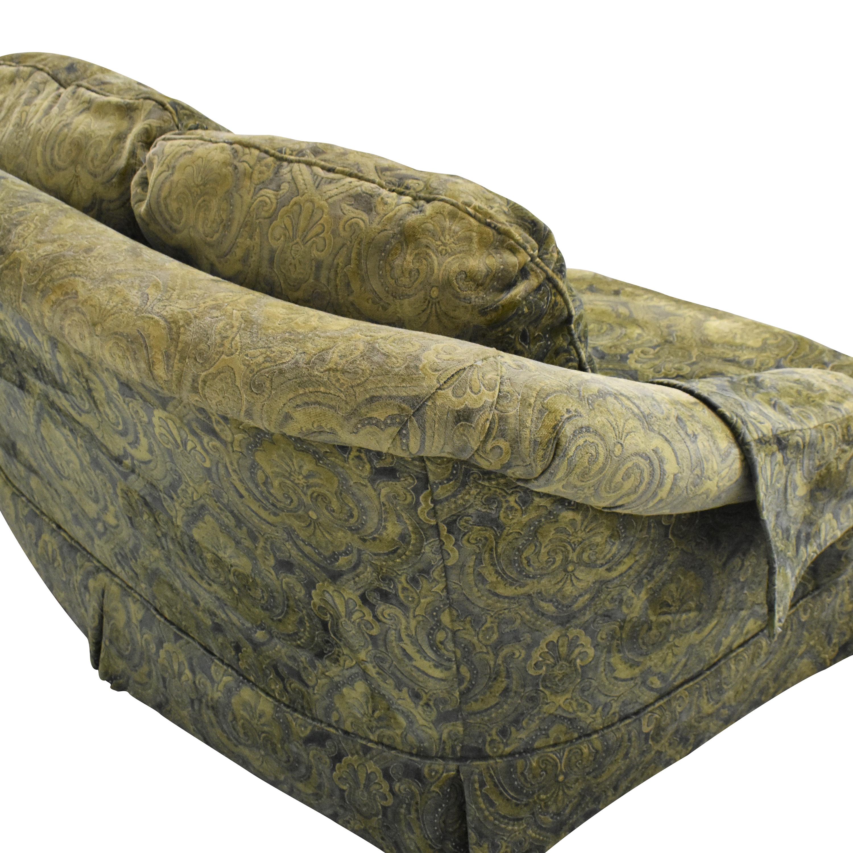 Sherrill Furniture Skirted Loveseat Sherrill Furniture