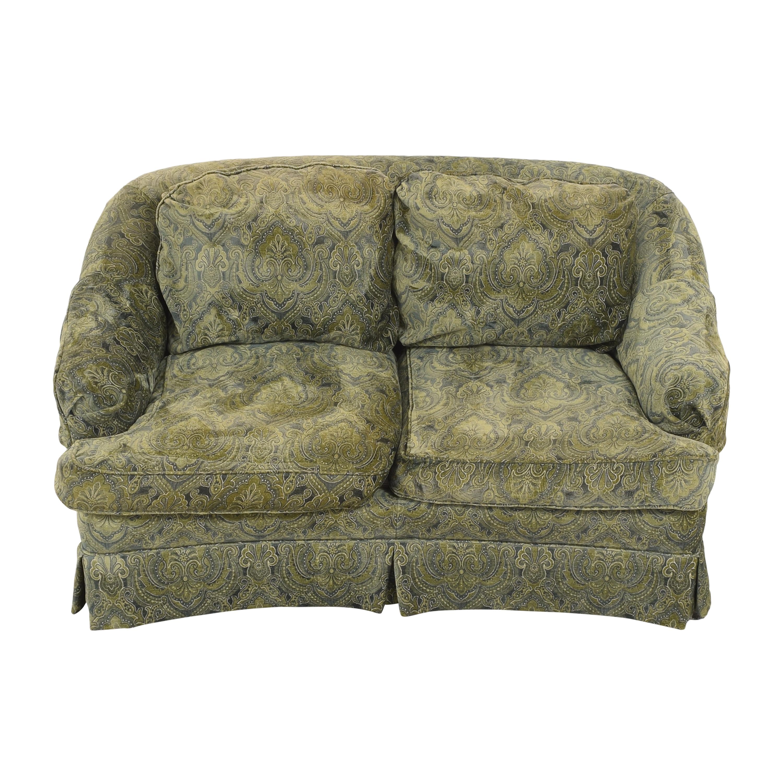 Sherrill Furniture Sherrill Furniture Skirted Loveseat for sale