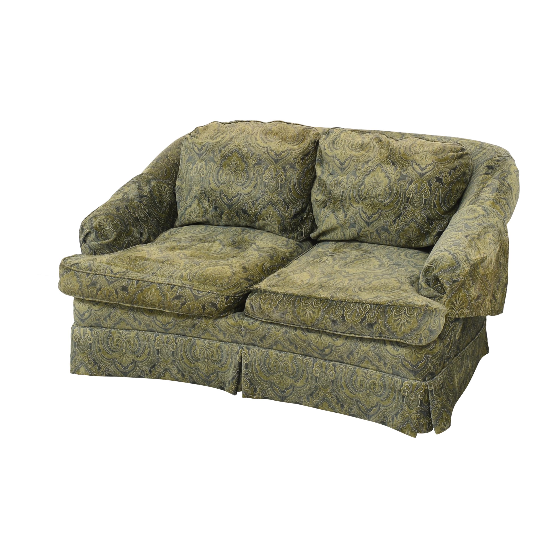 Sherrill Furniture Sherrill Furniture Skirted Loveseat discount