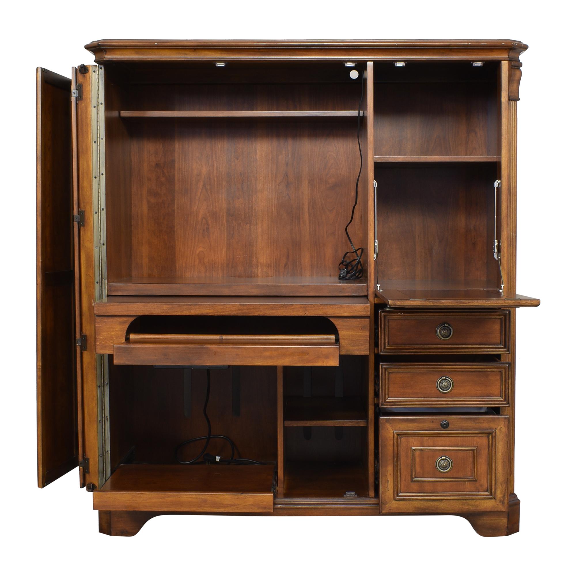 Hooker Furniture Hooker Furniture Office Armoire brown