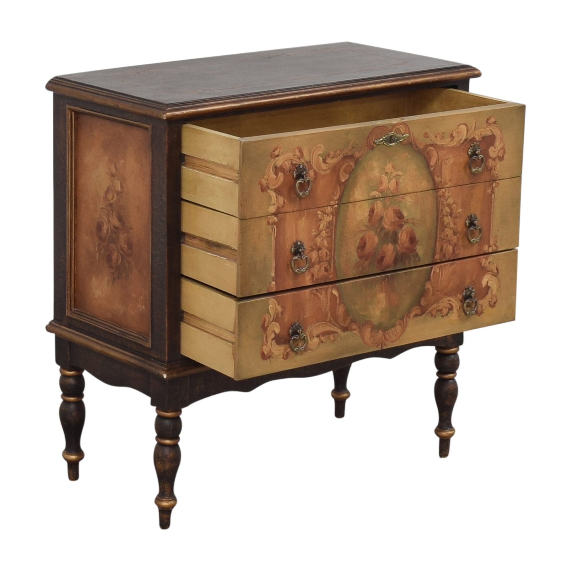 buy Vintage-Style Three Drawer Chest
