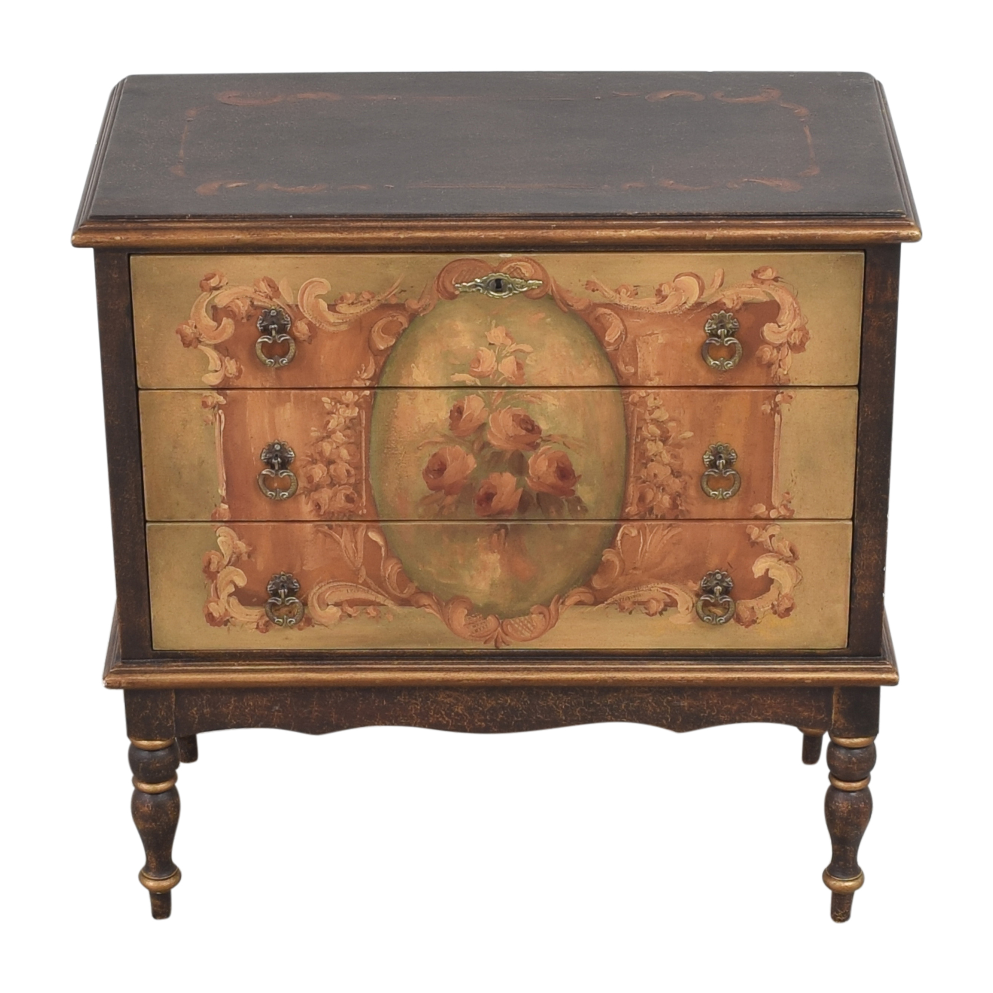 Vintage-Style Three Drawer Chest nyc