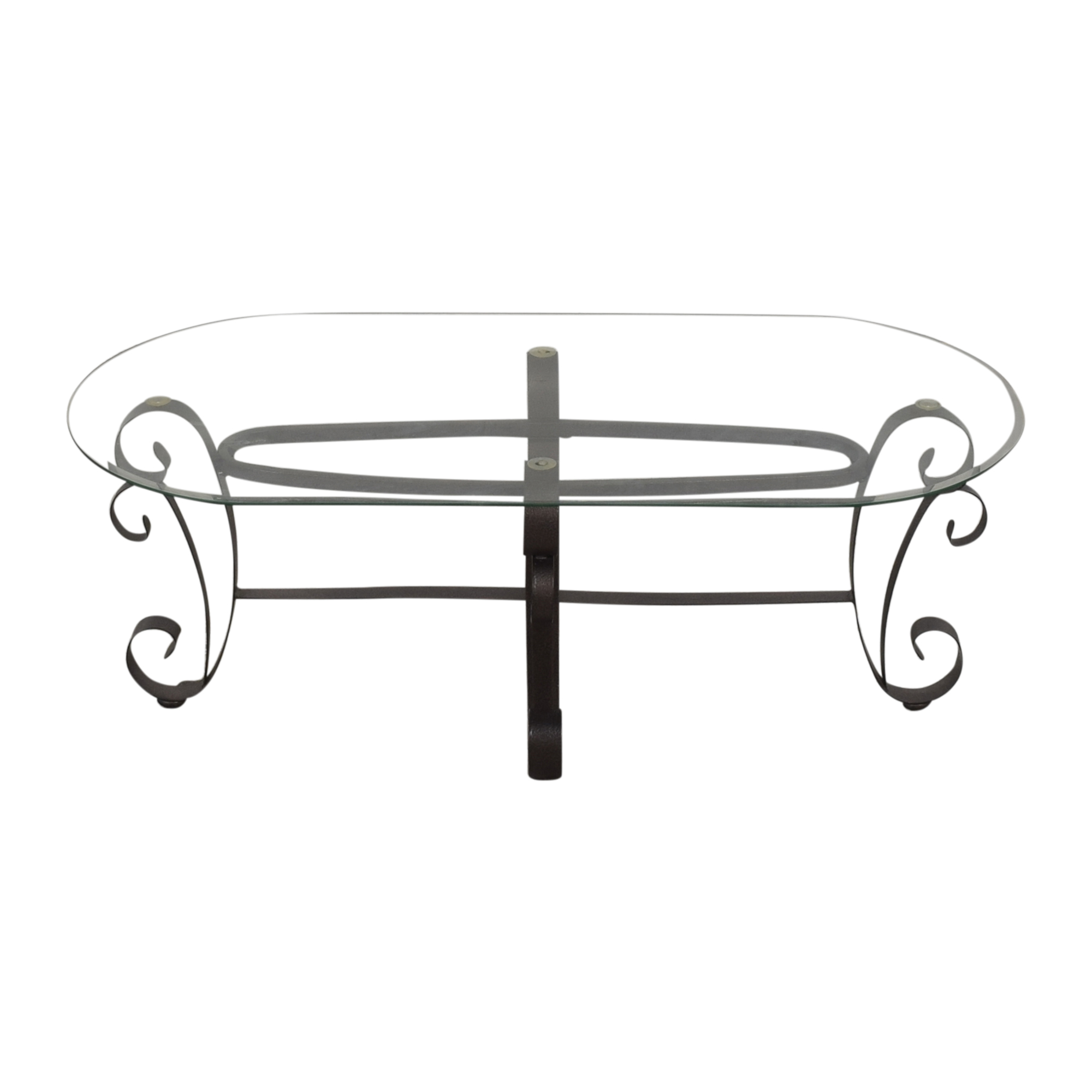 shop Oval Transparent Coffee Table  Coffee Tables