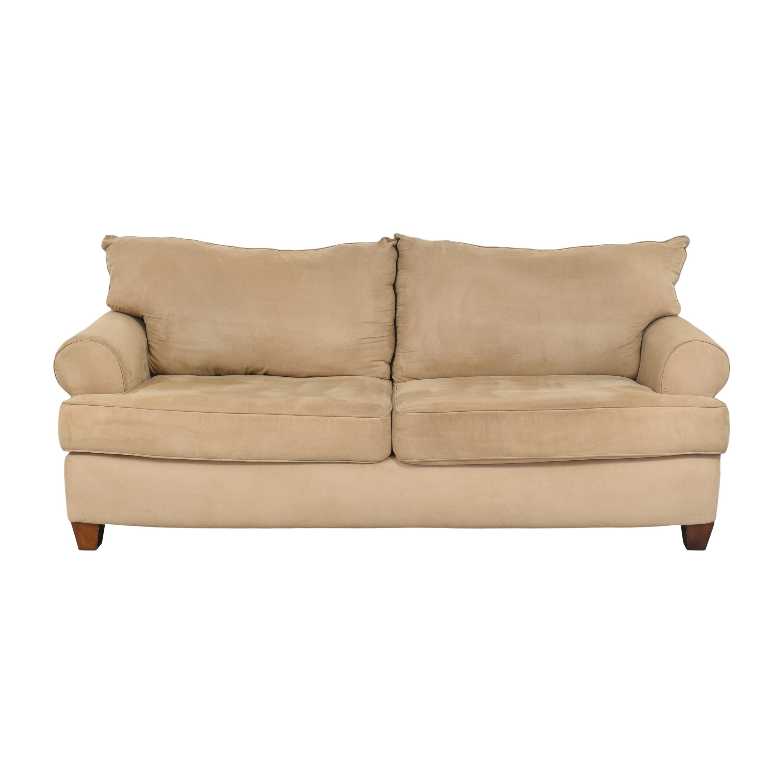 Corinthian Corinthian Roll Arm Sofa