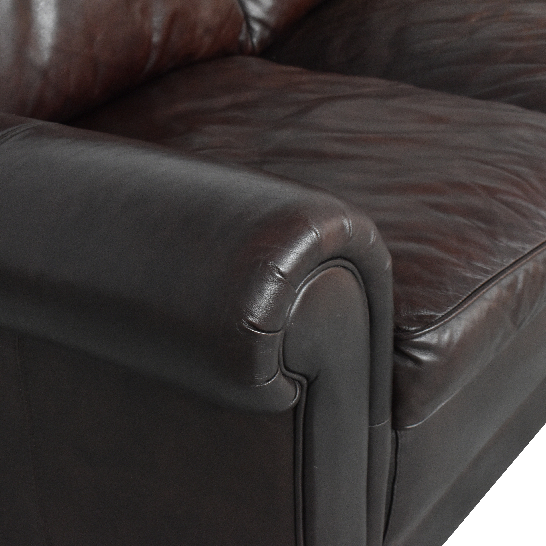 Lazzaro Lazzaro Three Cushion Sofa ct