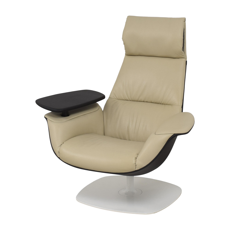 Coalesse Coalesse Massaud Work Lounge Chair beige & black