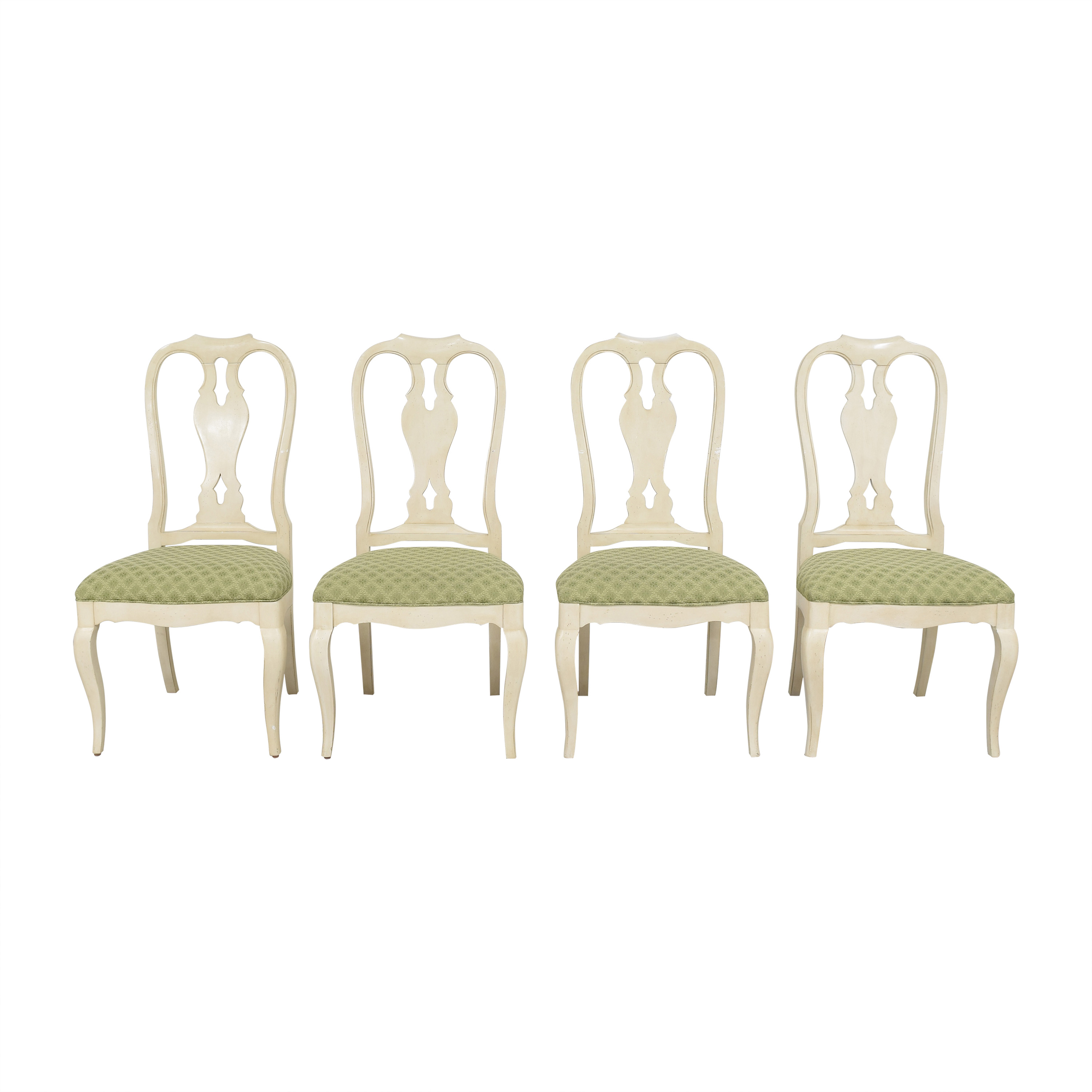 Ethan Allen Ethan Allen Upholstered Dining Side Chairs coupon