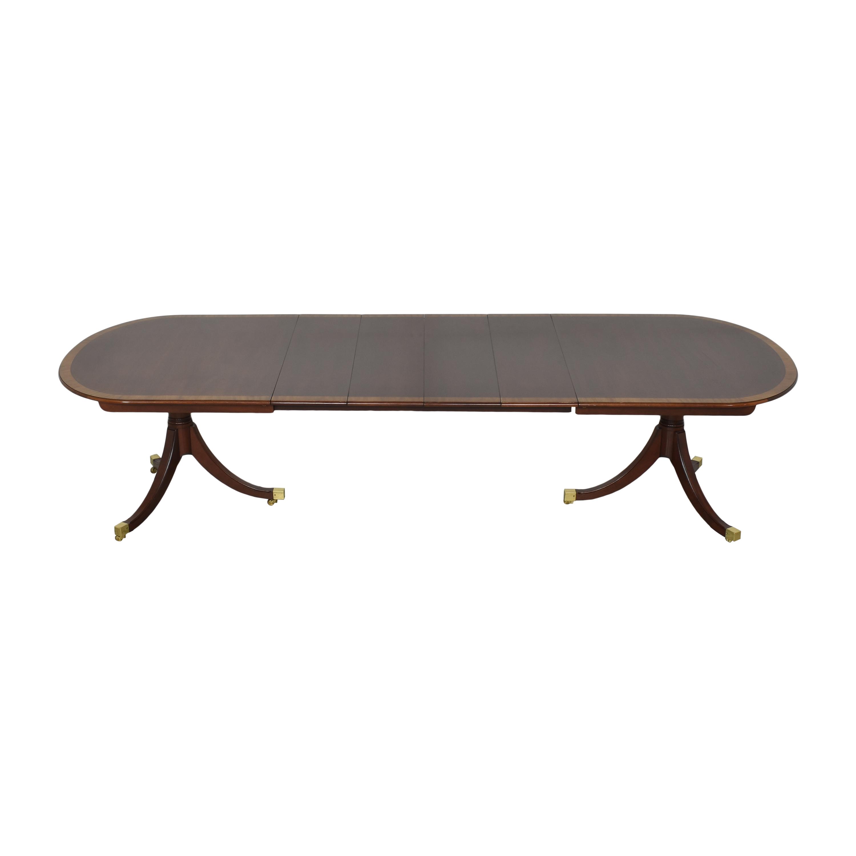 Kindel Kindel Oval Dining Table dimensions