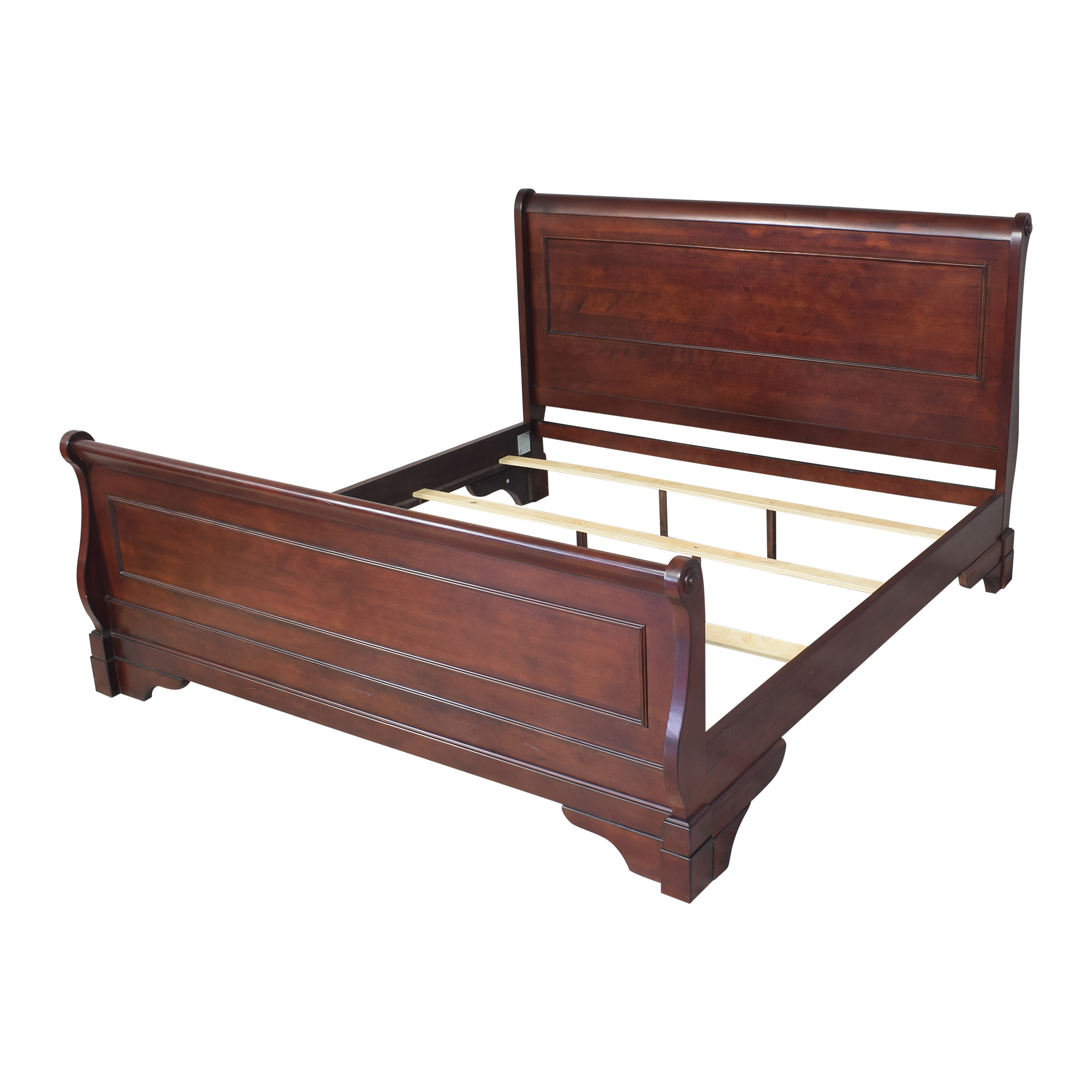 shop New Classic Furniture Versaille King Sleigh Bed New Classic Furniture