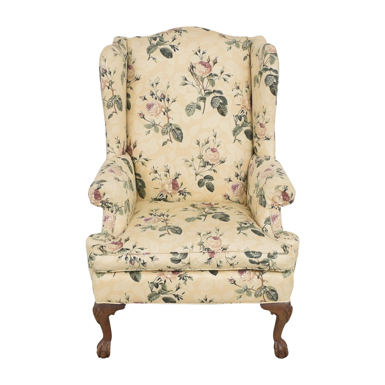 Ethan Allen Ethan Allen Wingback Arm Chair second hand