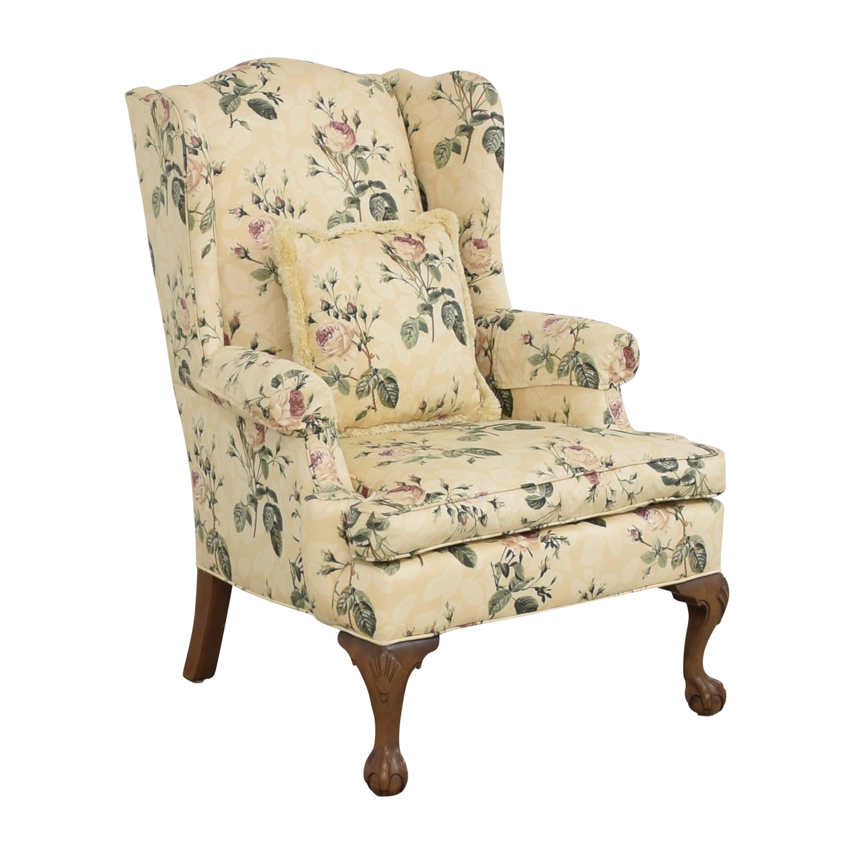 shop Ethan Allen Wingback Arm Chair Ethan Allen Chairs