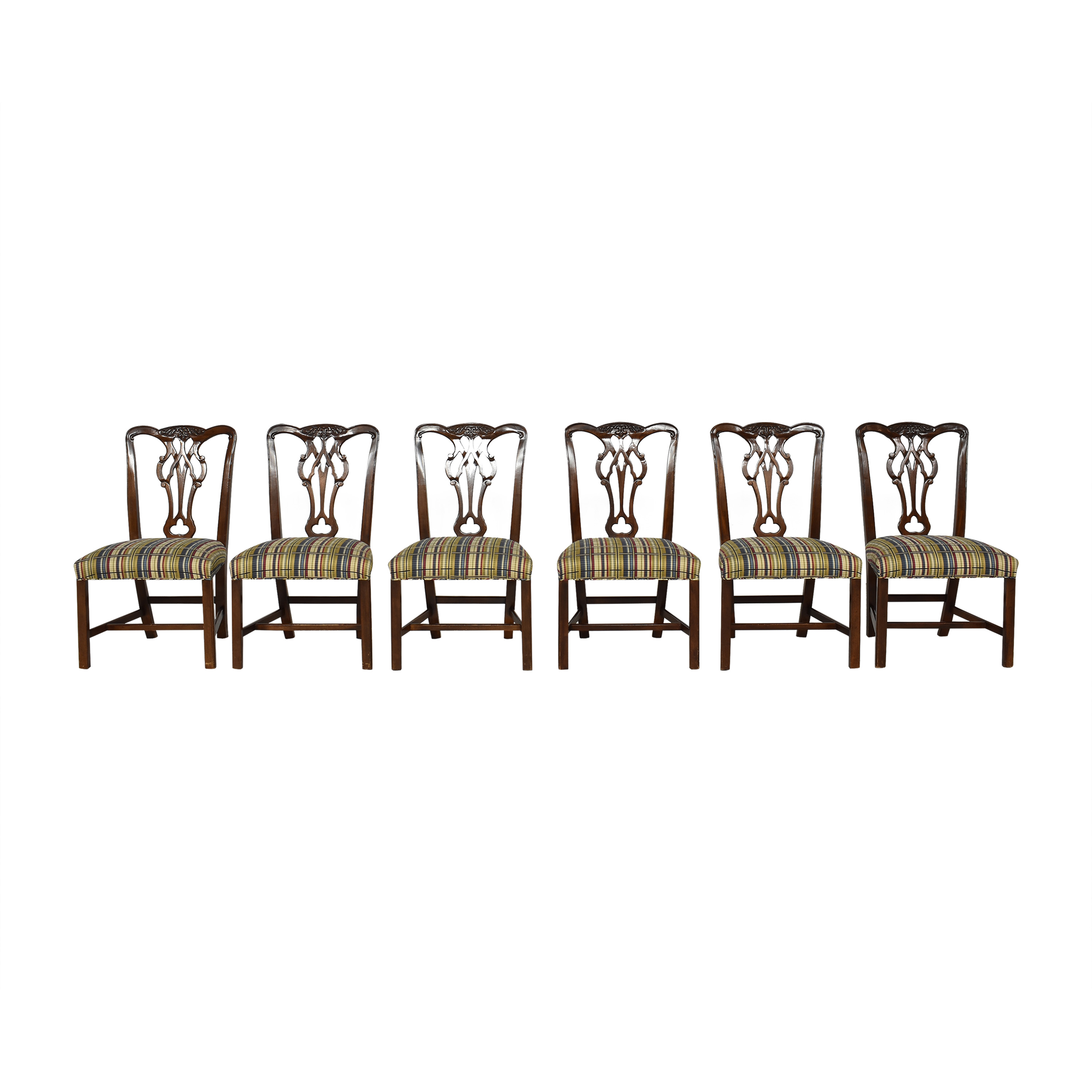 Chippendale-Style Dining Side Chairs dimensions