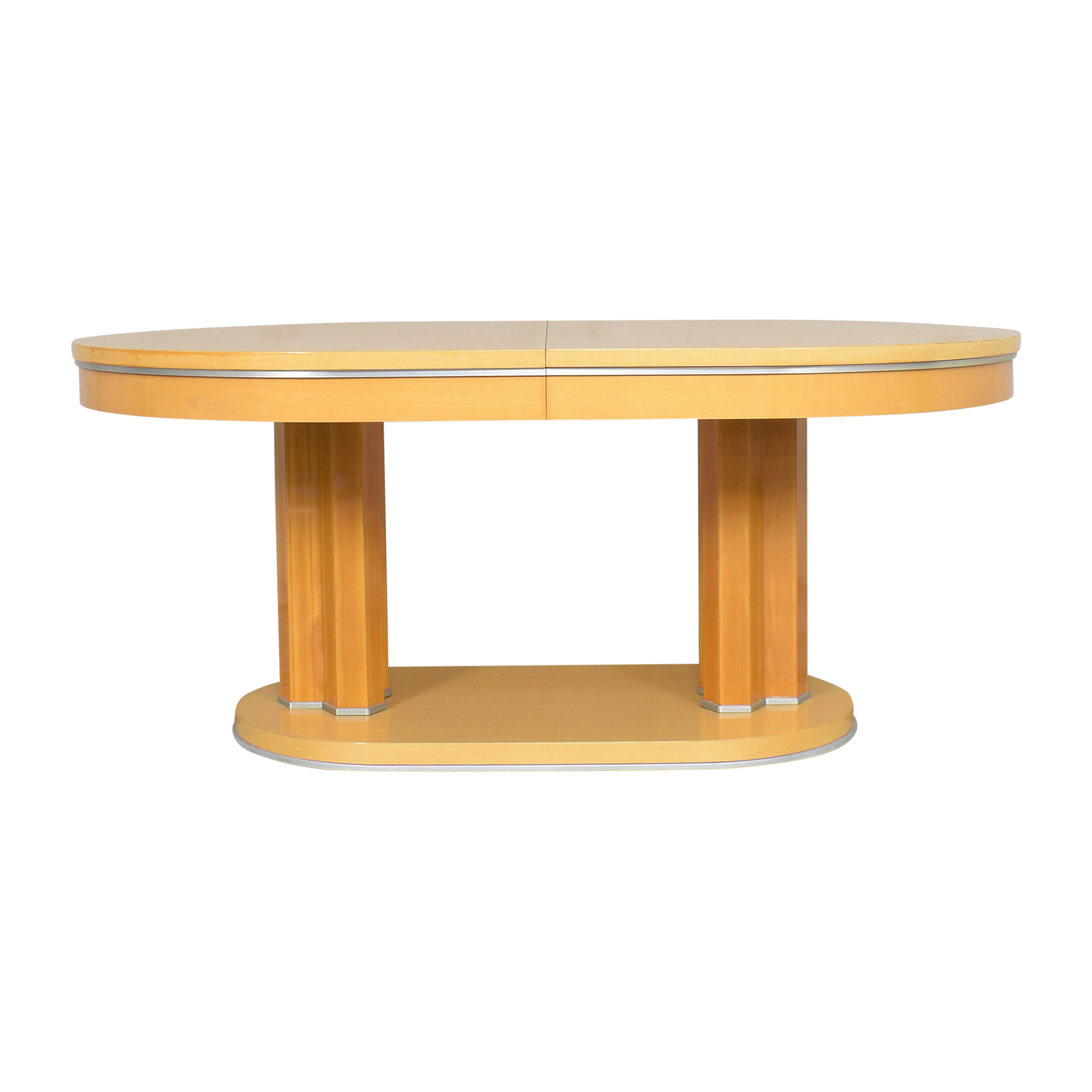 Oval Extendable Dining Table pa