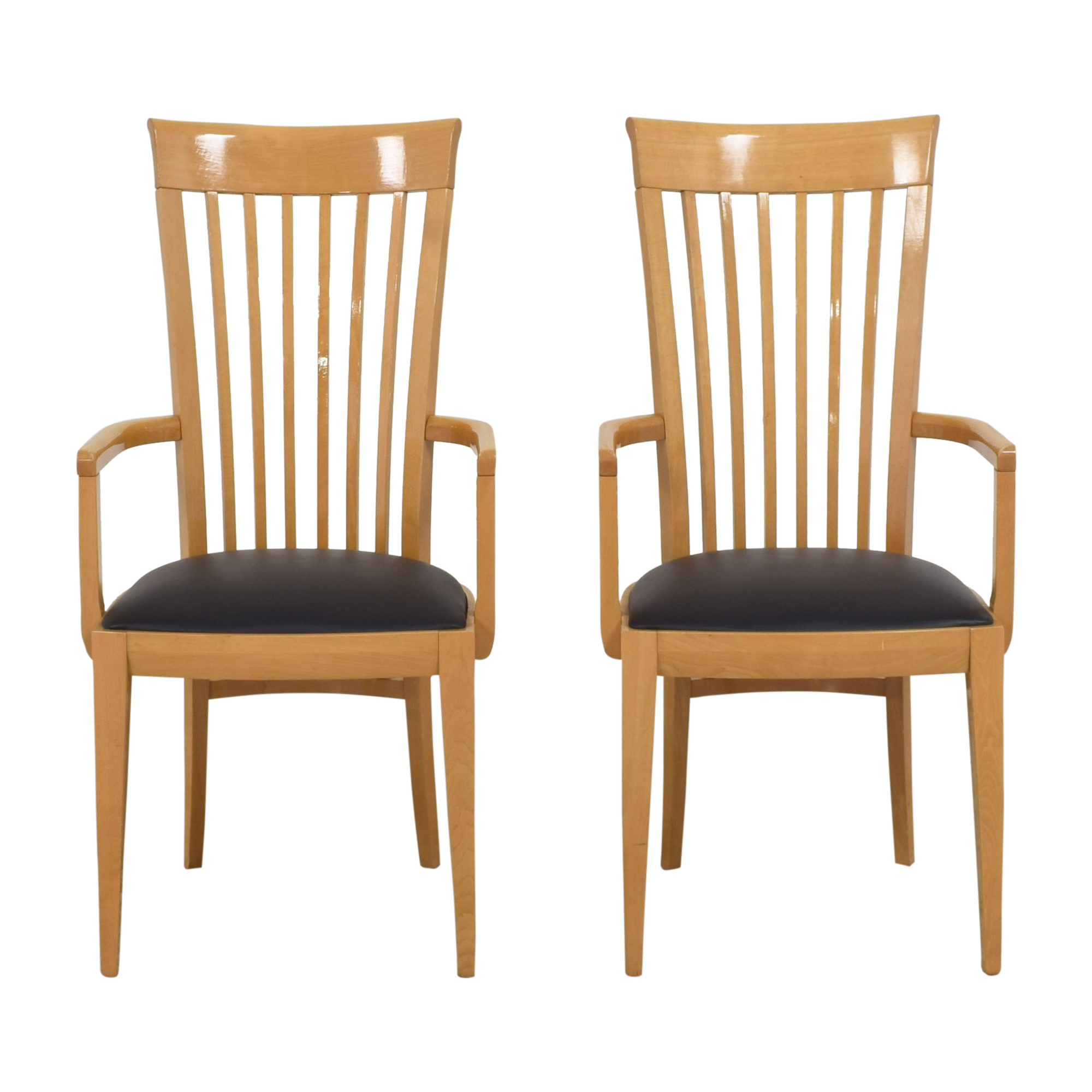 buy High Back Dining Arm Chairs