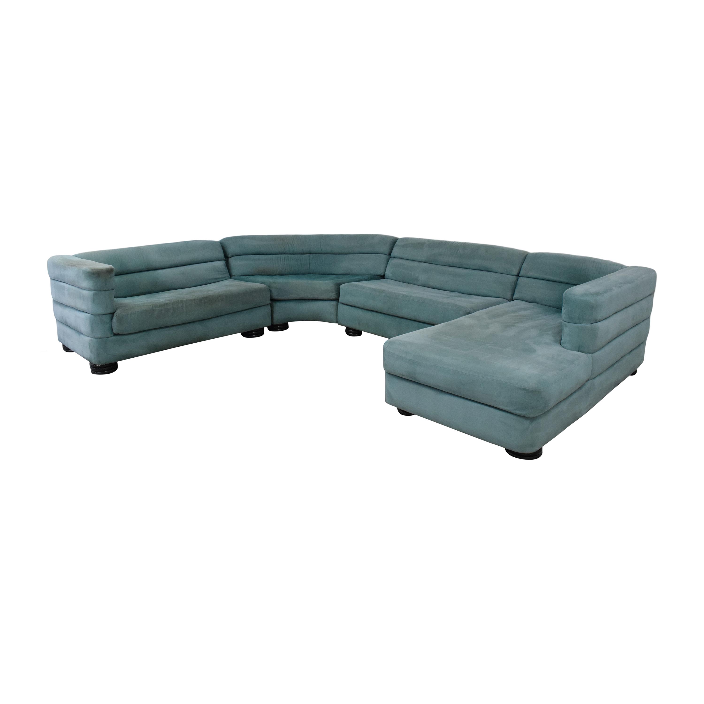 shop Directional Furniture Four Piece Sectional Sofa Directional Furniture Sectionals