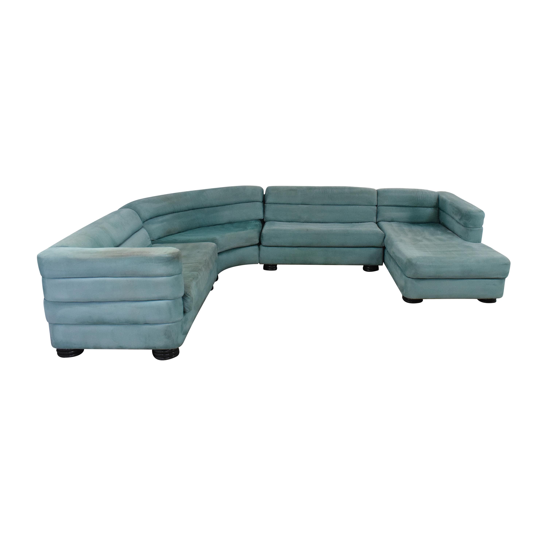 shop Directional Furniture Four Piece Sectional Sofa Directional Furniture Sofas