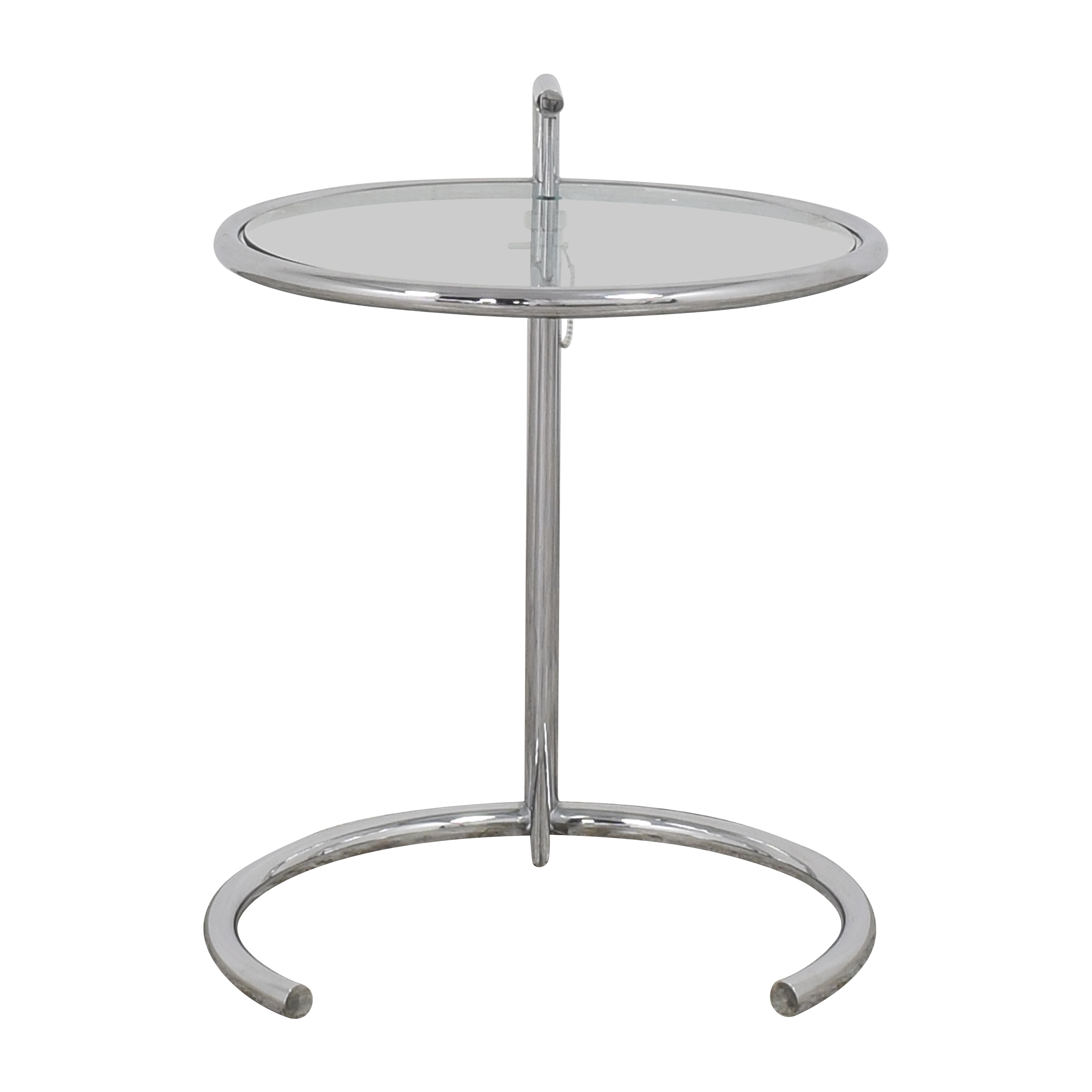 Eileen Gray Style Adjustable End Table dimensions