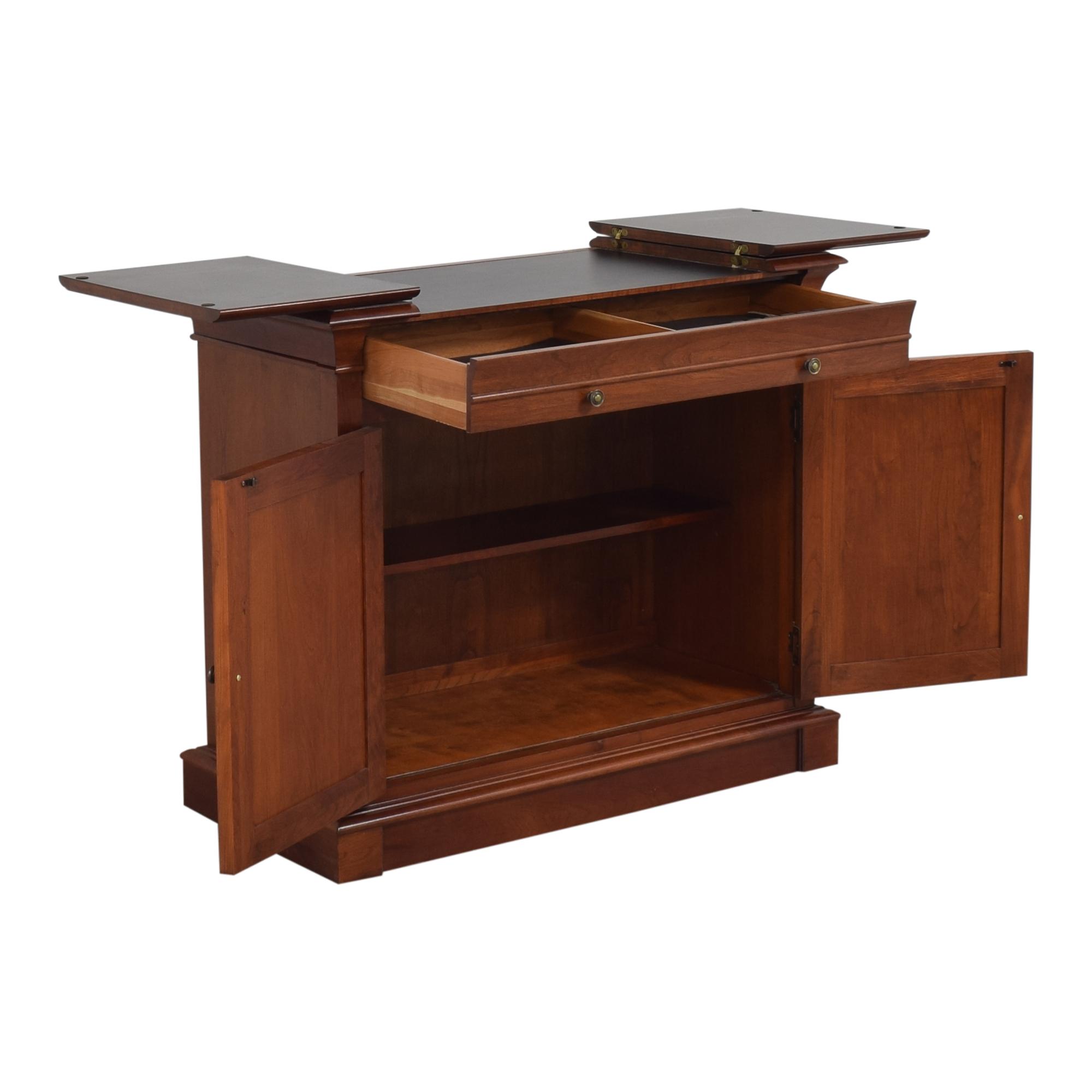 Ethan Allen Ethan Allen Medallion Flip Top Buffet Cabinet Cabinets & Sideboards
